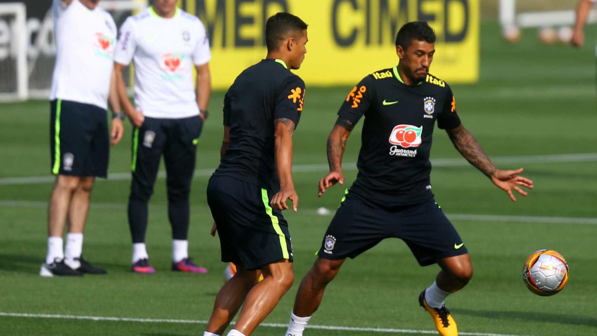 Thiago Silva sofre lesão e vira dúvida para Brasil x Chile