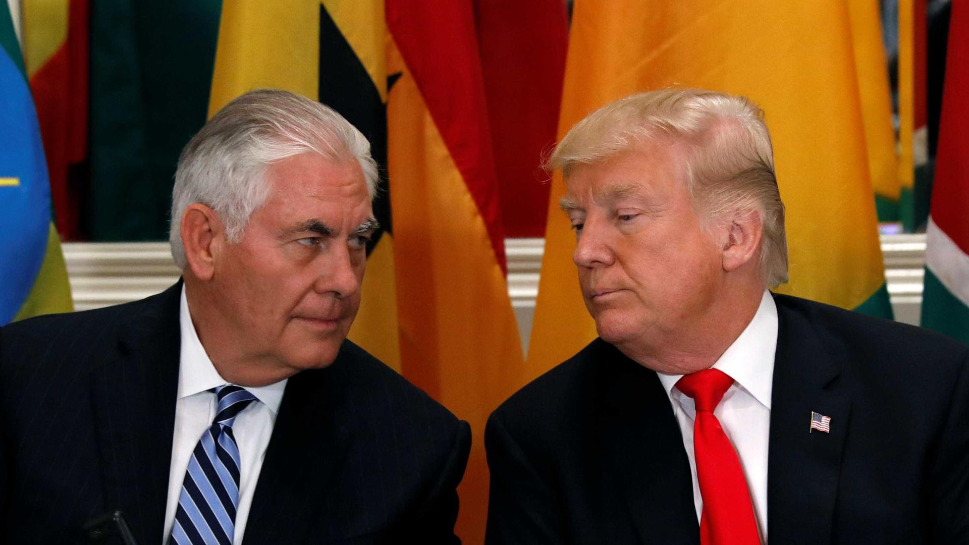 Tillerson reitera solidariedade a Trump e garante que nunca pensou em renunciar