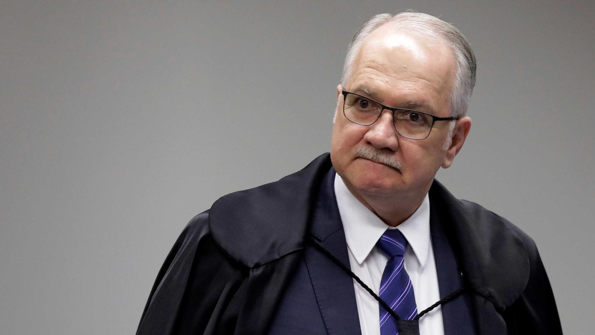 Fachin defende condução coercitiva para interrogatórios