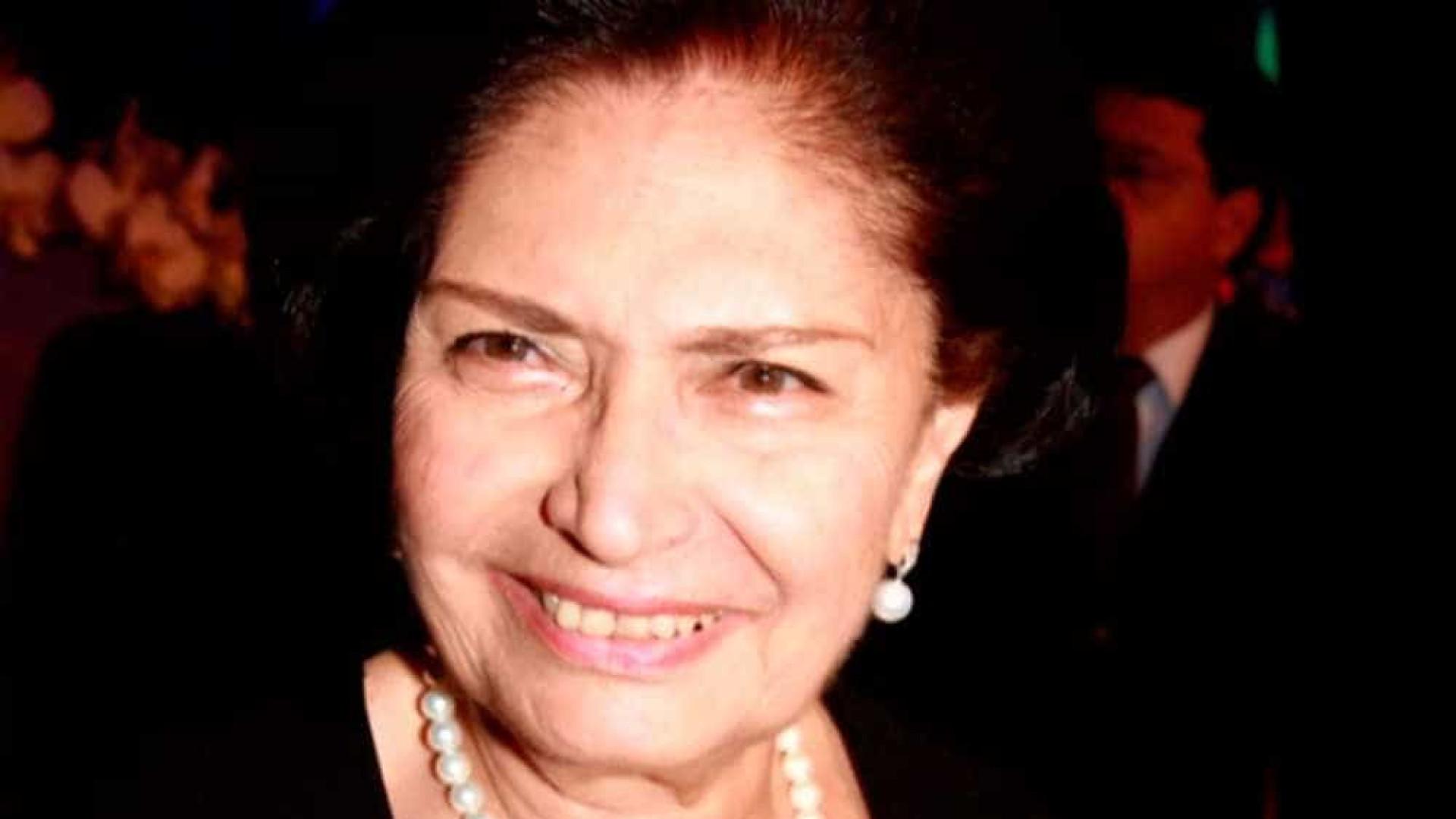 Morre viúva de ACM, Arlette Magalhães, aos 86 anos