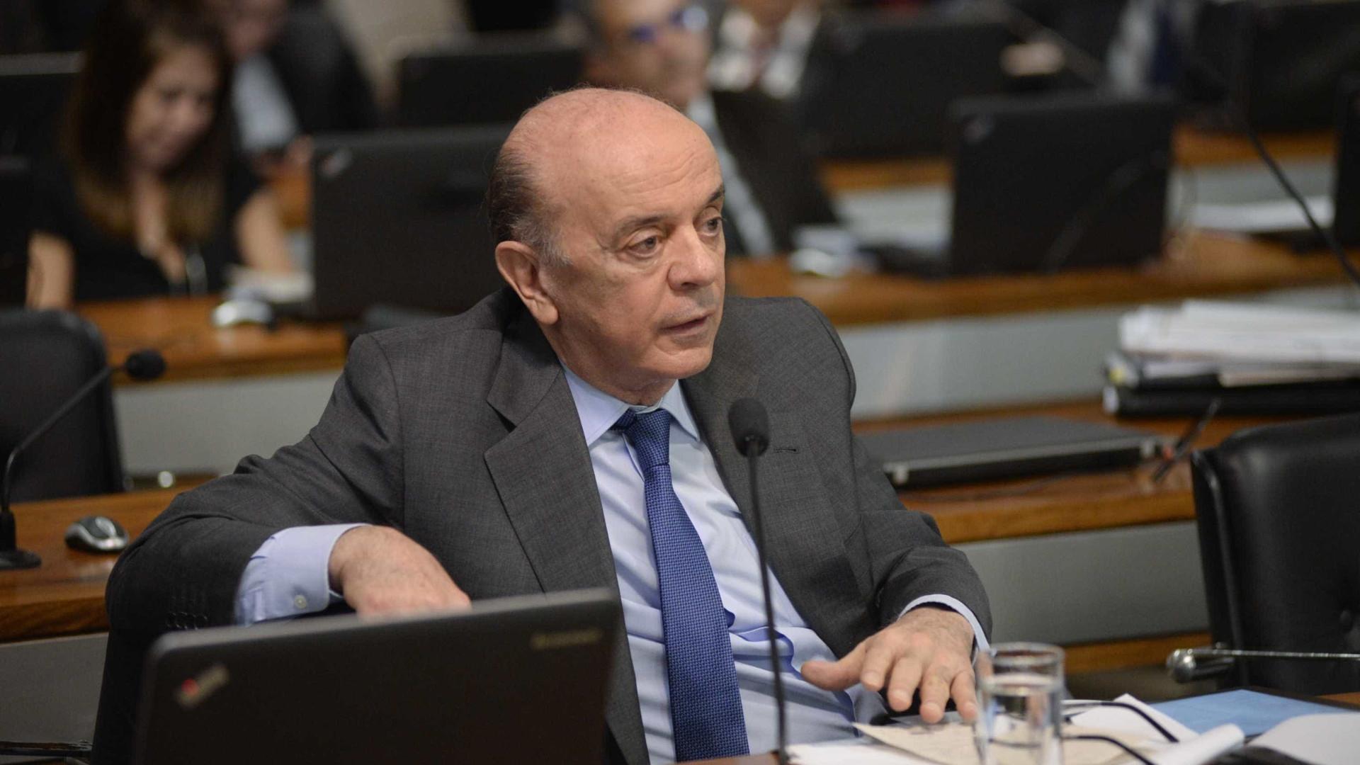 Nome de Serra permanece como opção do PSDB para 2018