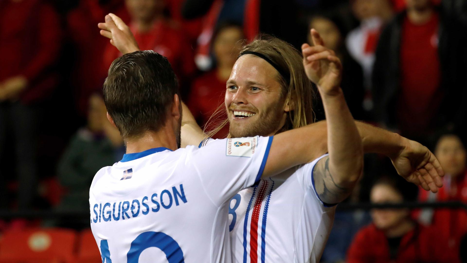 Islândia garante vaga e é primeira novidade para Copa de 2018