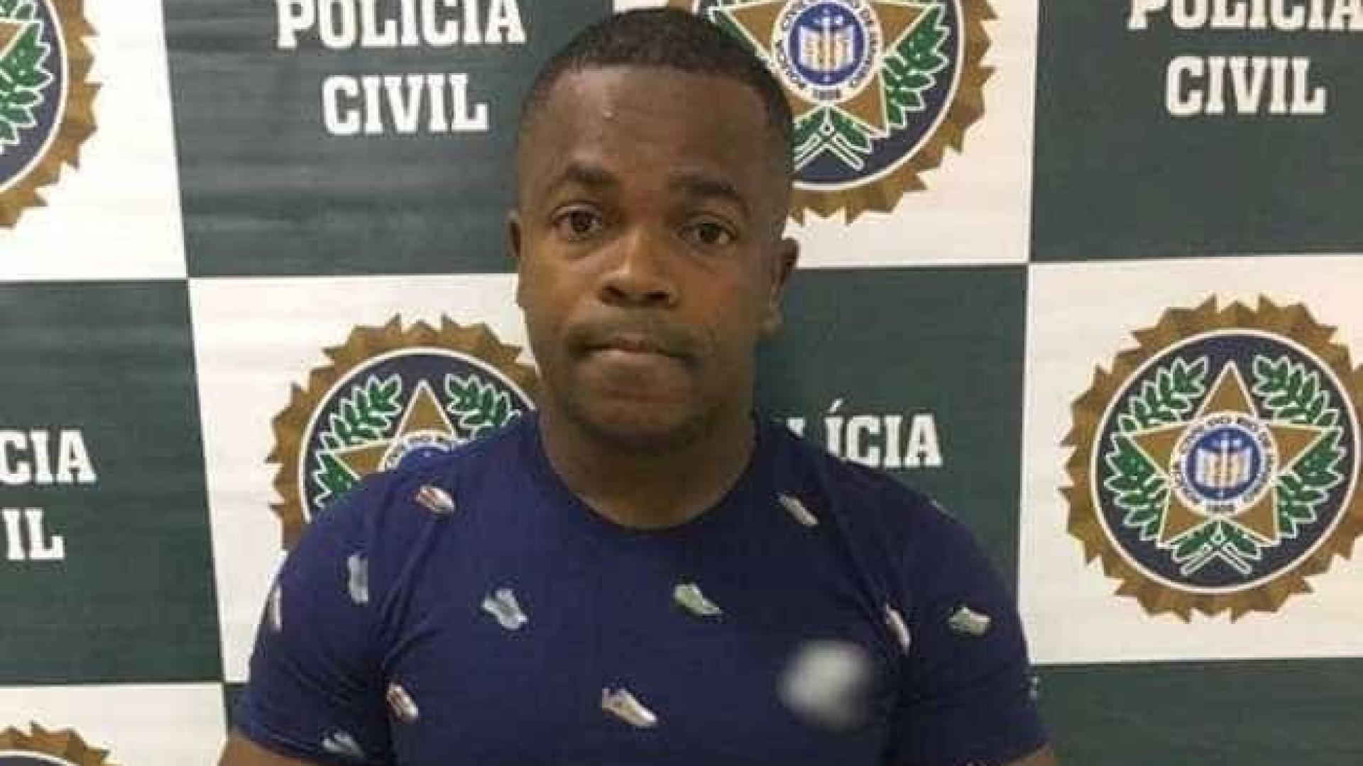 Ex-Botafogo e chefe do tráfico é preso enquanto aproveitava feriadão