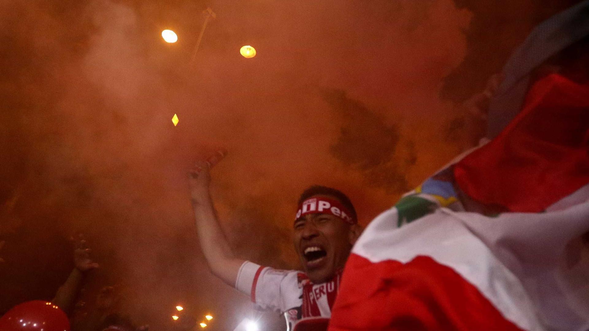 Veja a comemoração do Peru após classificação para a Copa de 2018