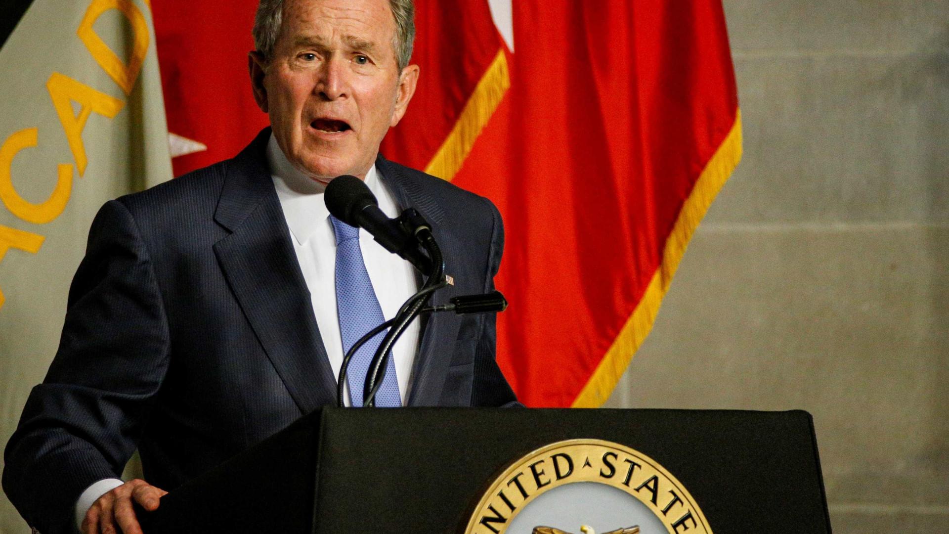 Em indireta a Trump, George W. Bush critica nacionalismo e intolerância