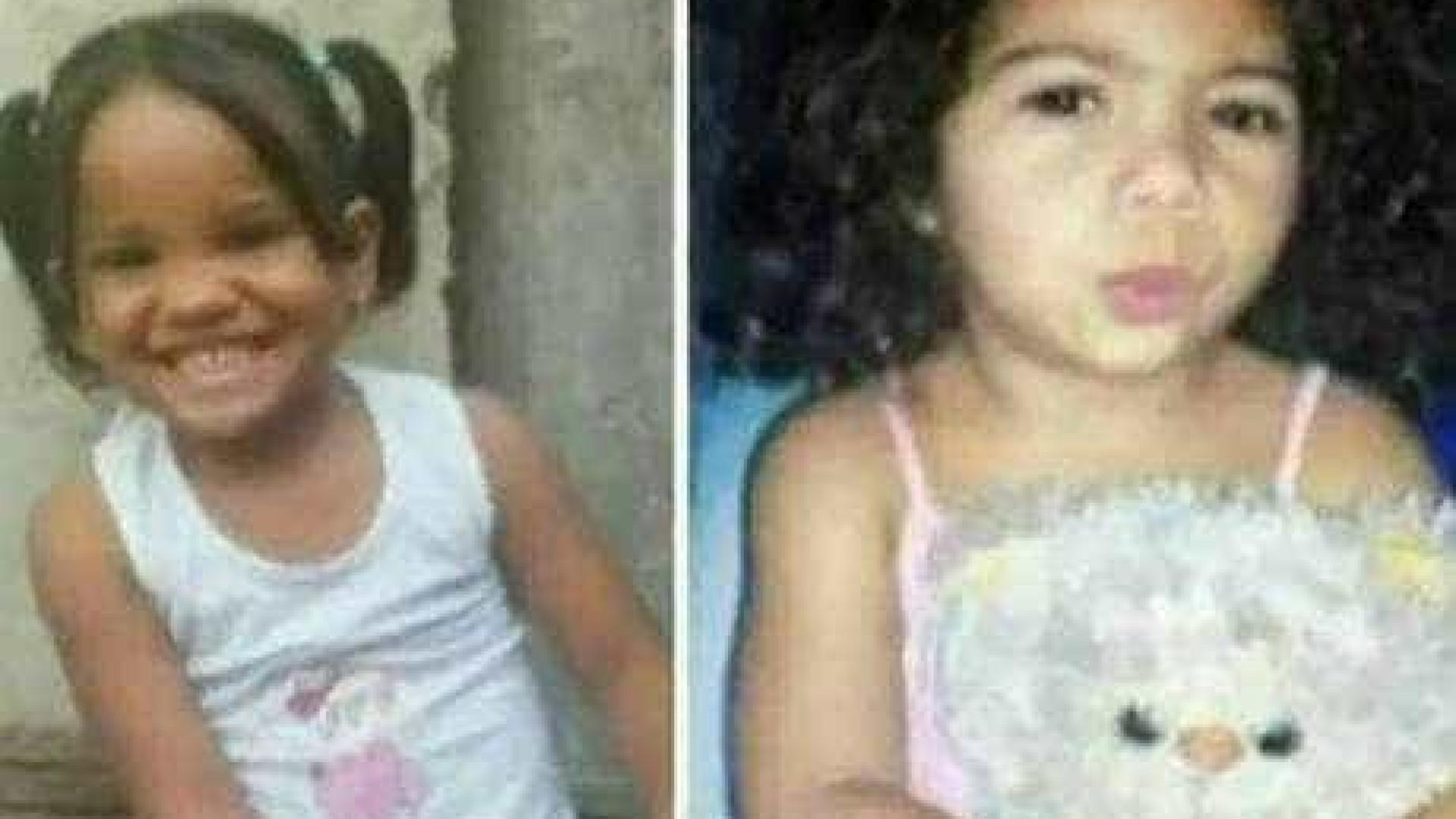 Presos suspeitos pela morte de meninas de 3 anos; sepultamento foi hoje