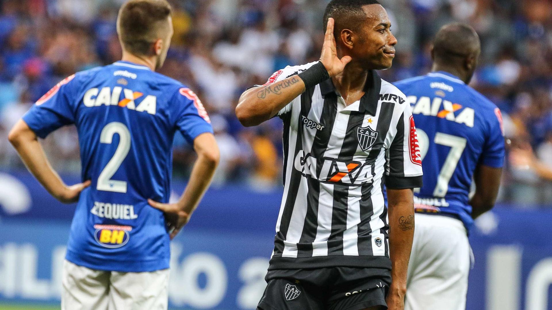 Atlético-MG se reúne com Robinho e encaminha renovação