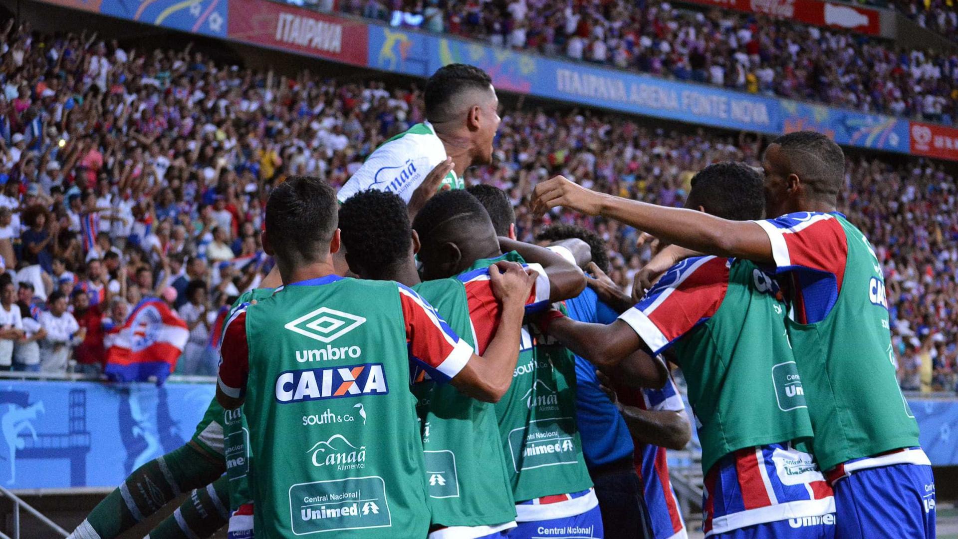 Bahia vence o Vitória com gol no fim e deixa rival perto do Z4