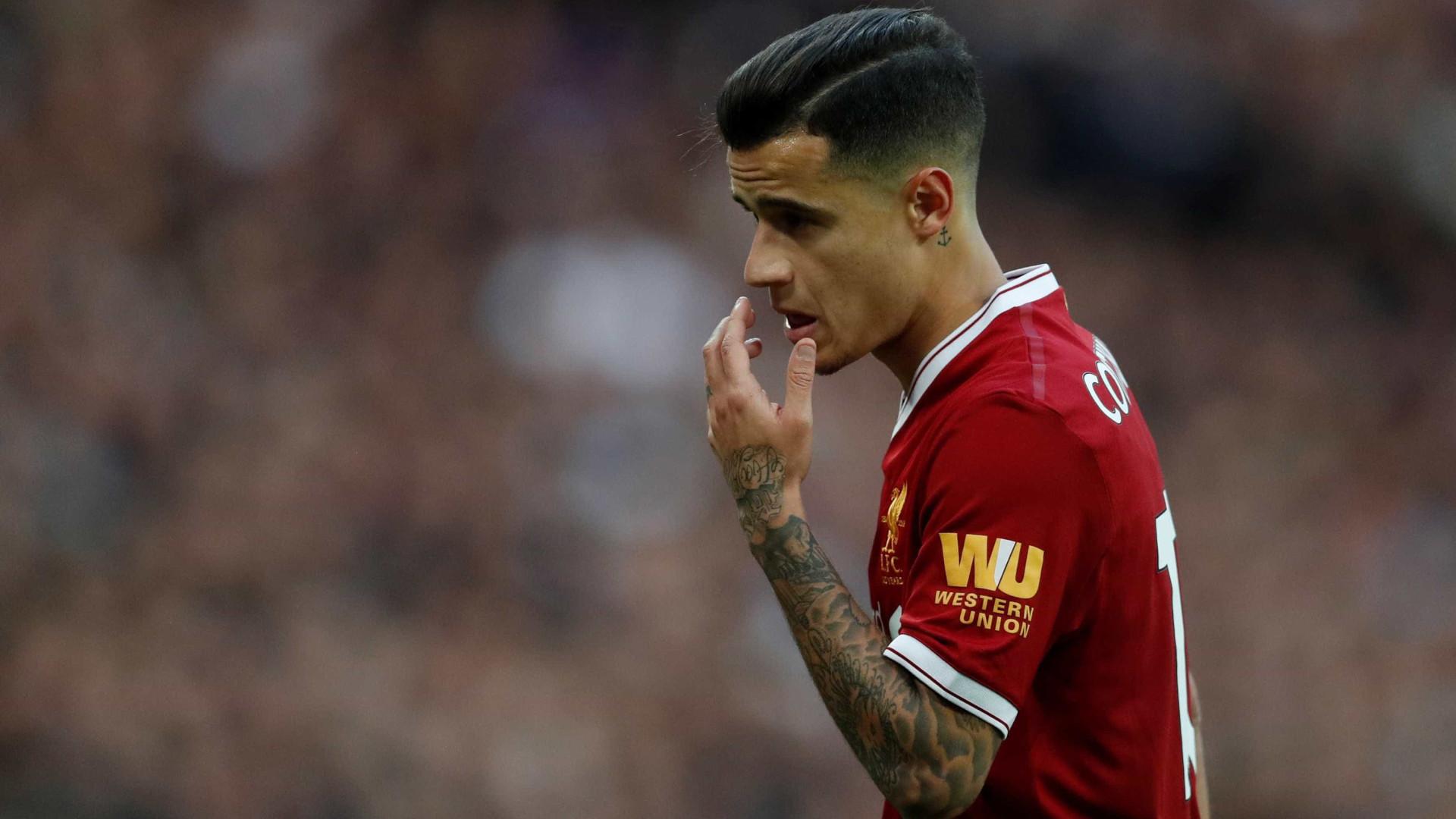 Liverpool define preço para vender Coutinho ao Barça