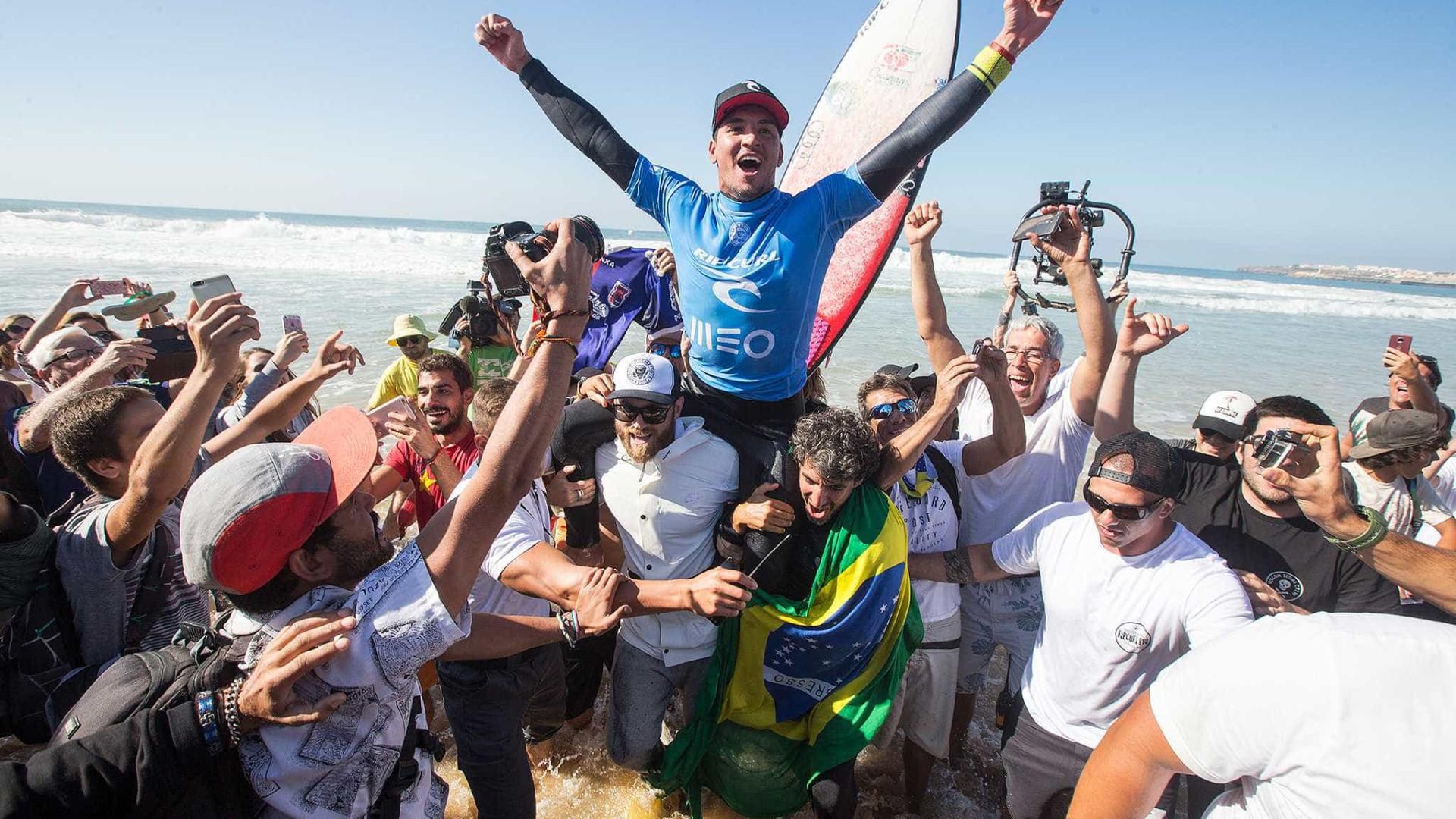 Medina é o surfista da elite mundial que mais lucrou em 2017; confira