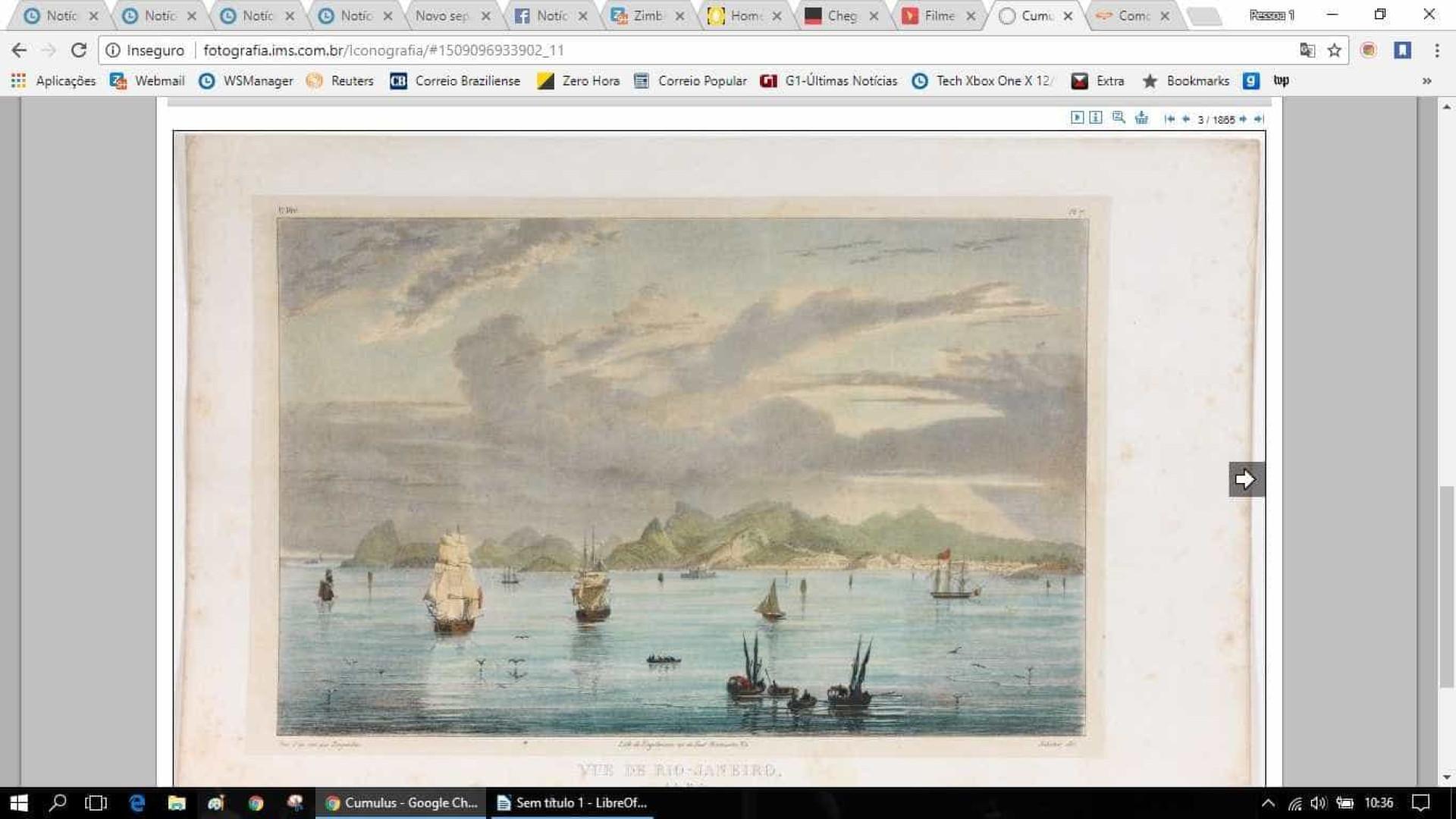 Coleção iconográfica brasiliana é liberada na web: 2,5 mil obras