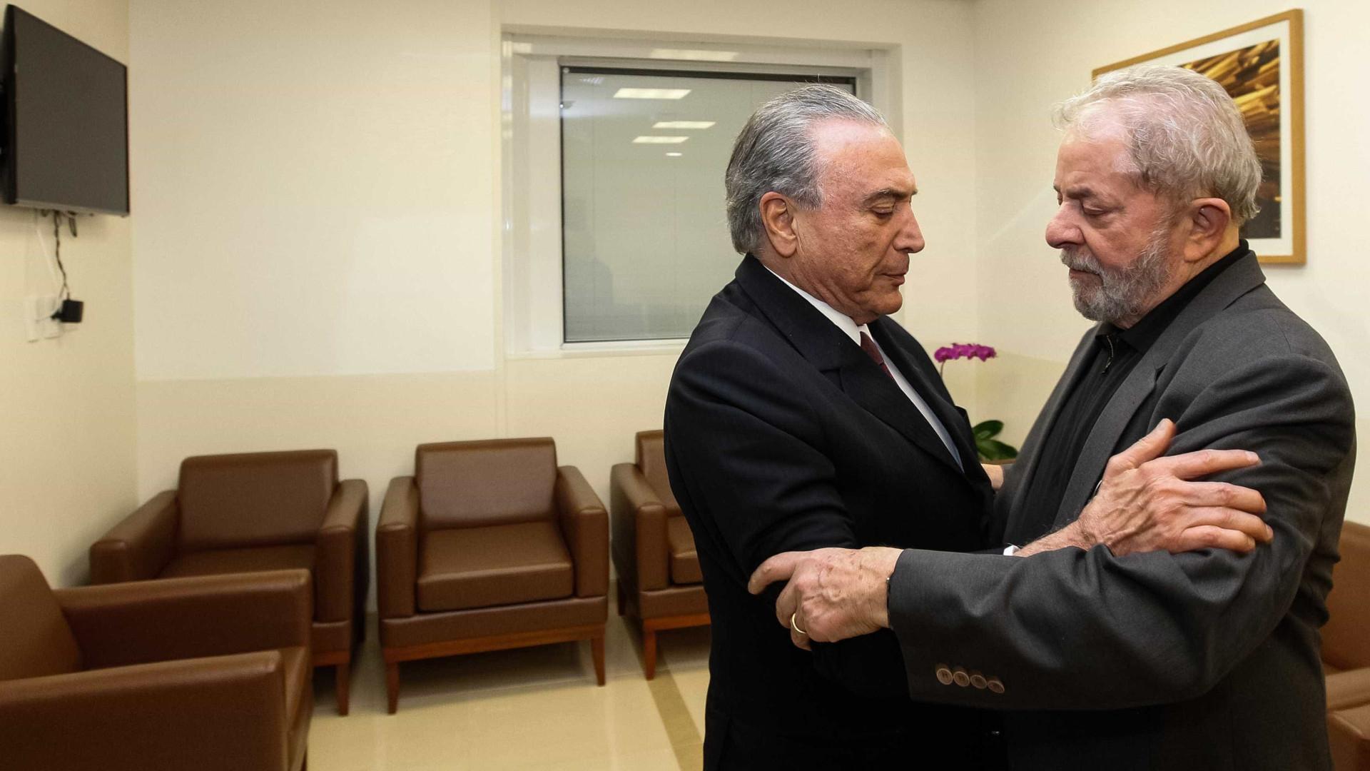 Temer já está fora, ninguém gosta dele, diz Lula