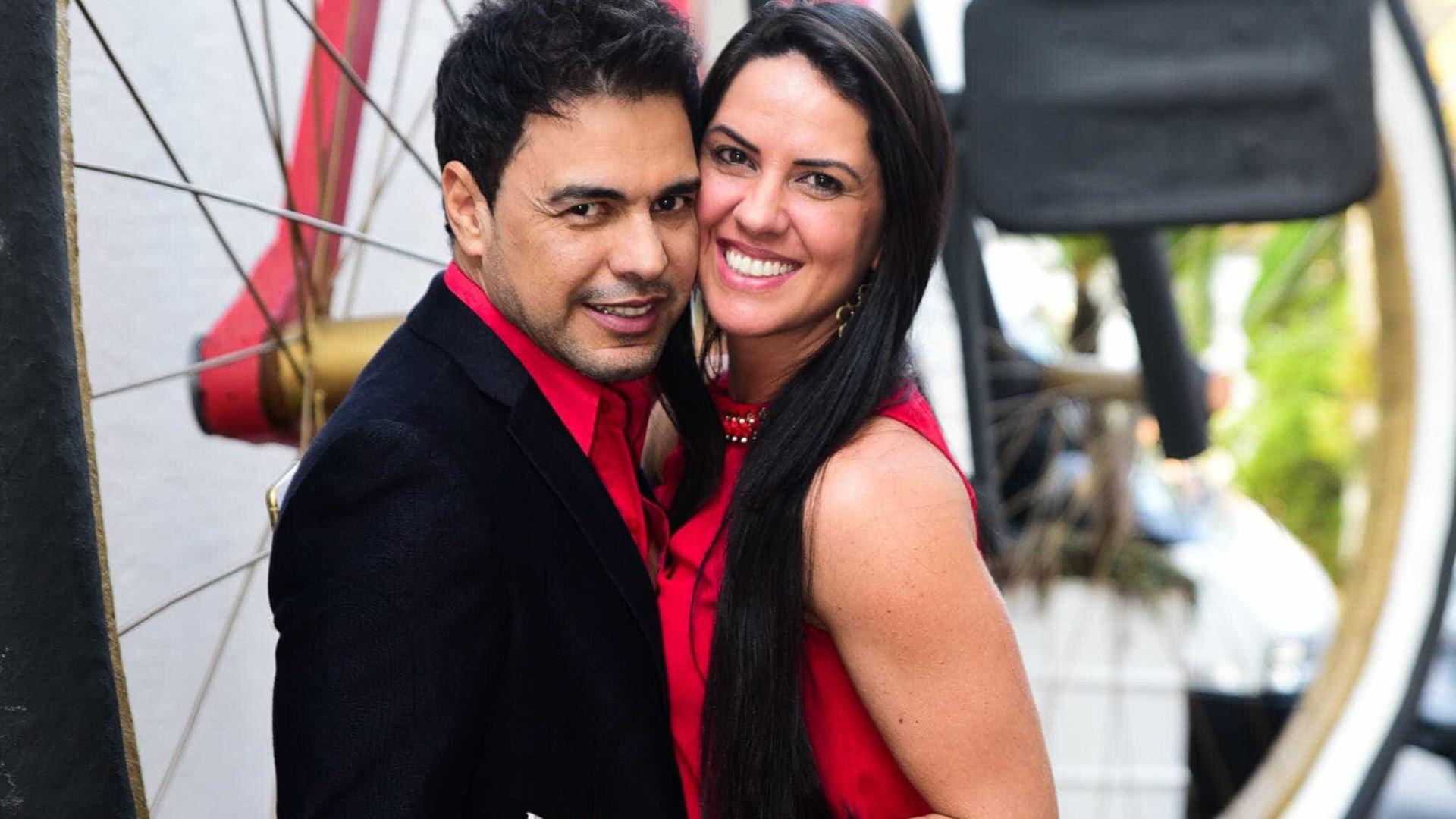 Zezé Di Camargo revela lugar inusitado que fez amor com Graciele