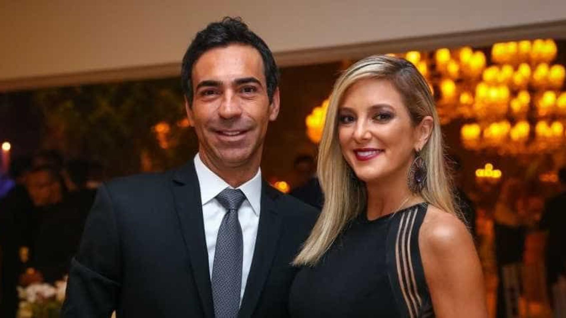 Ticiane e César Tralli já se casaram no civil em segredo, diz revista