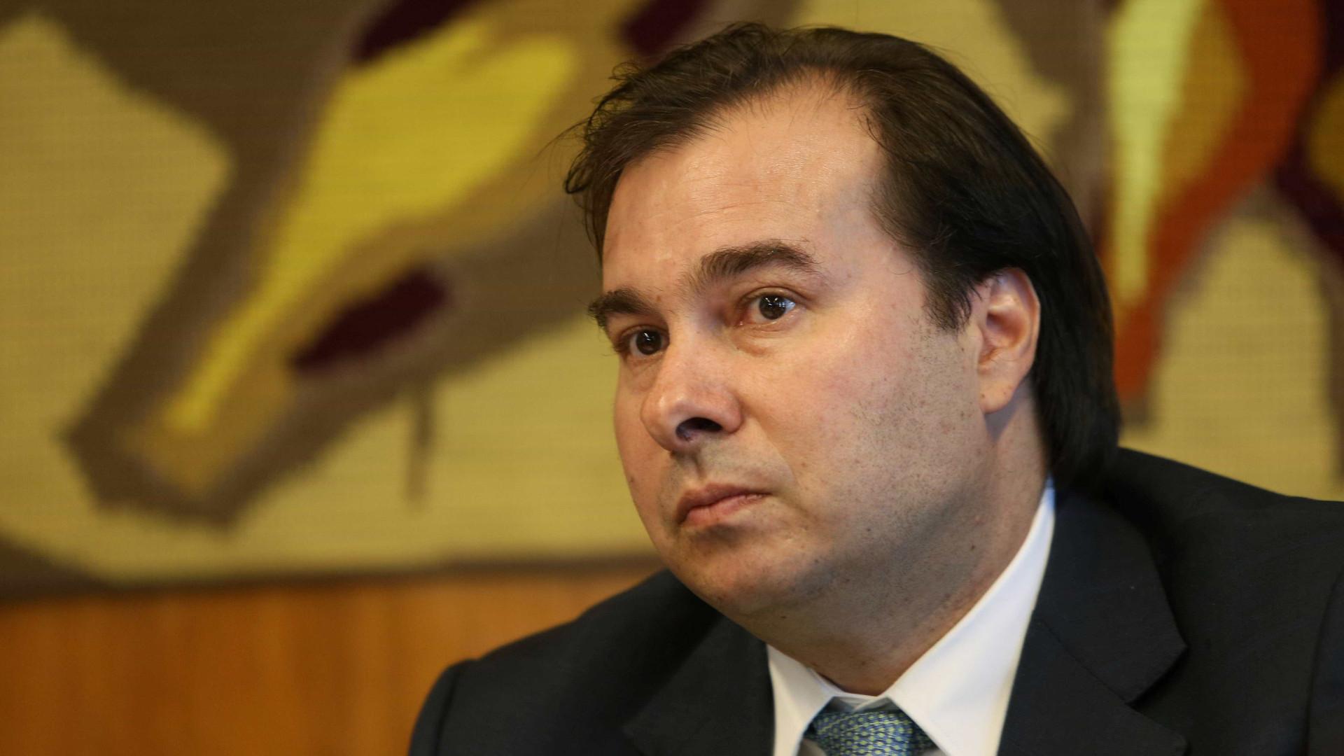 Maia defende encaminhamento da reforma trabalhista por projeto de lei