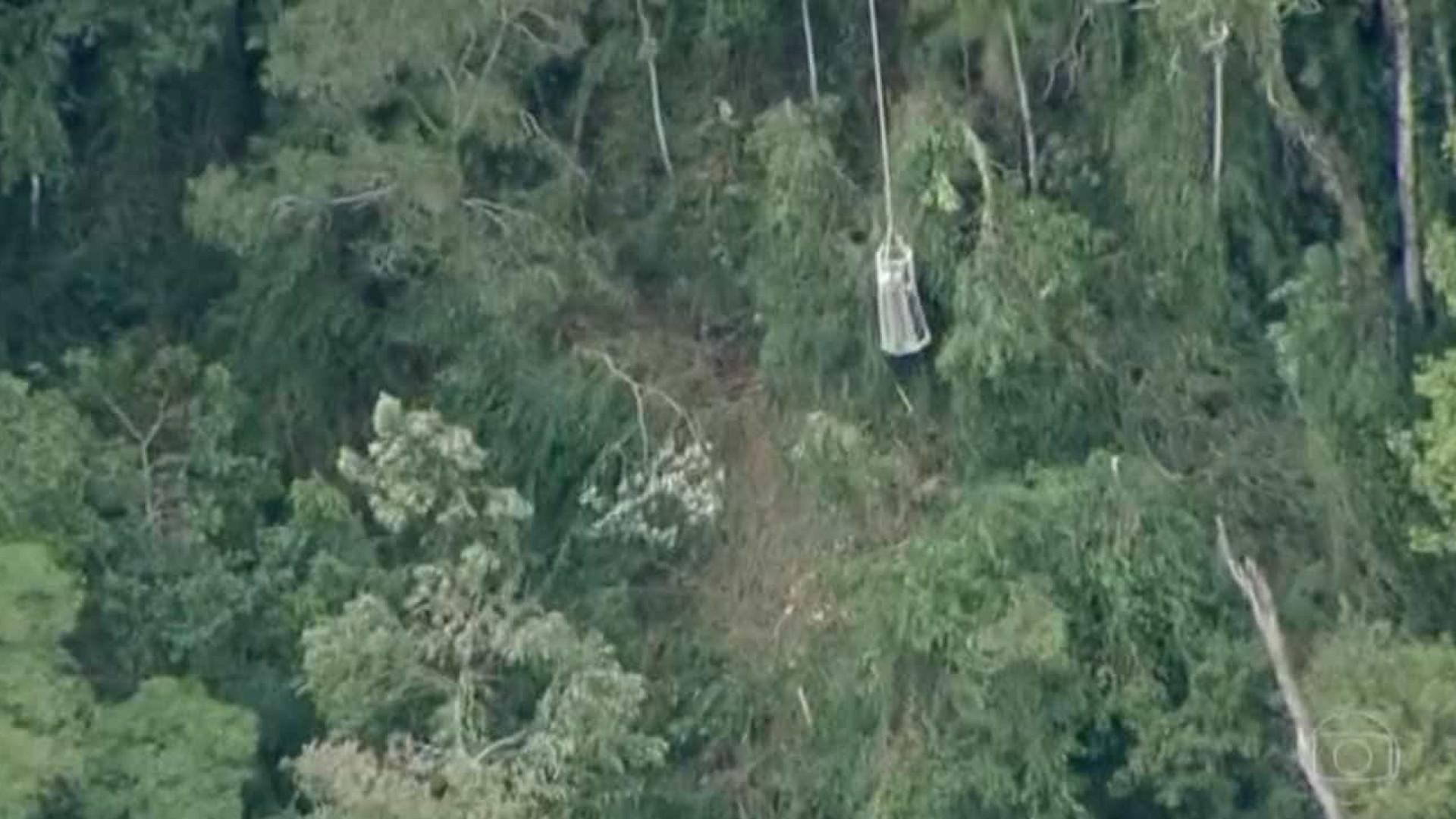 Vítimas de balão desaparecido são resgatas em Pinda