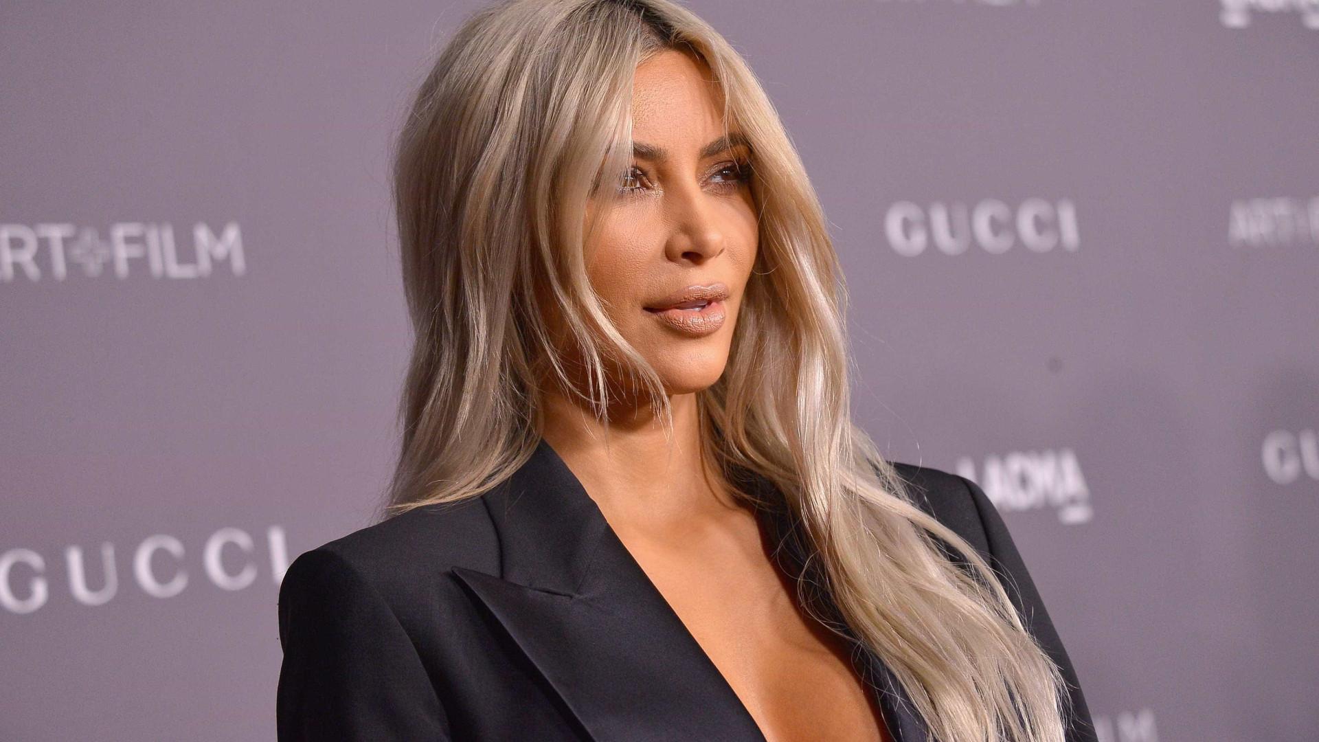 Kim Kardashian revela nome da filha mais nova