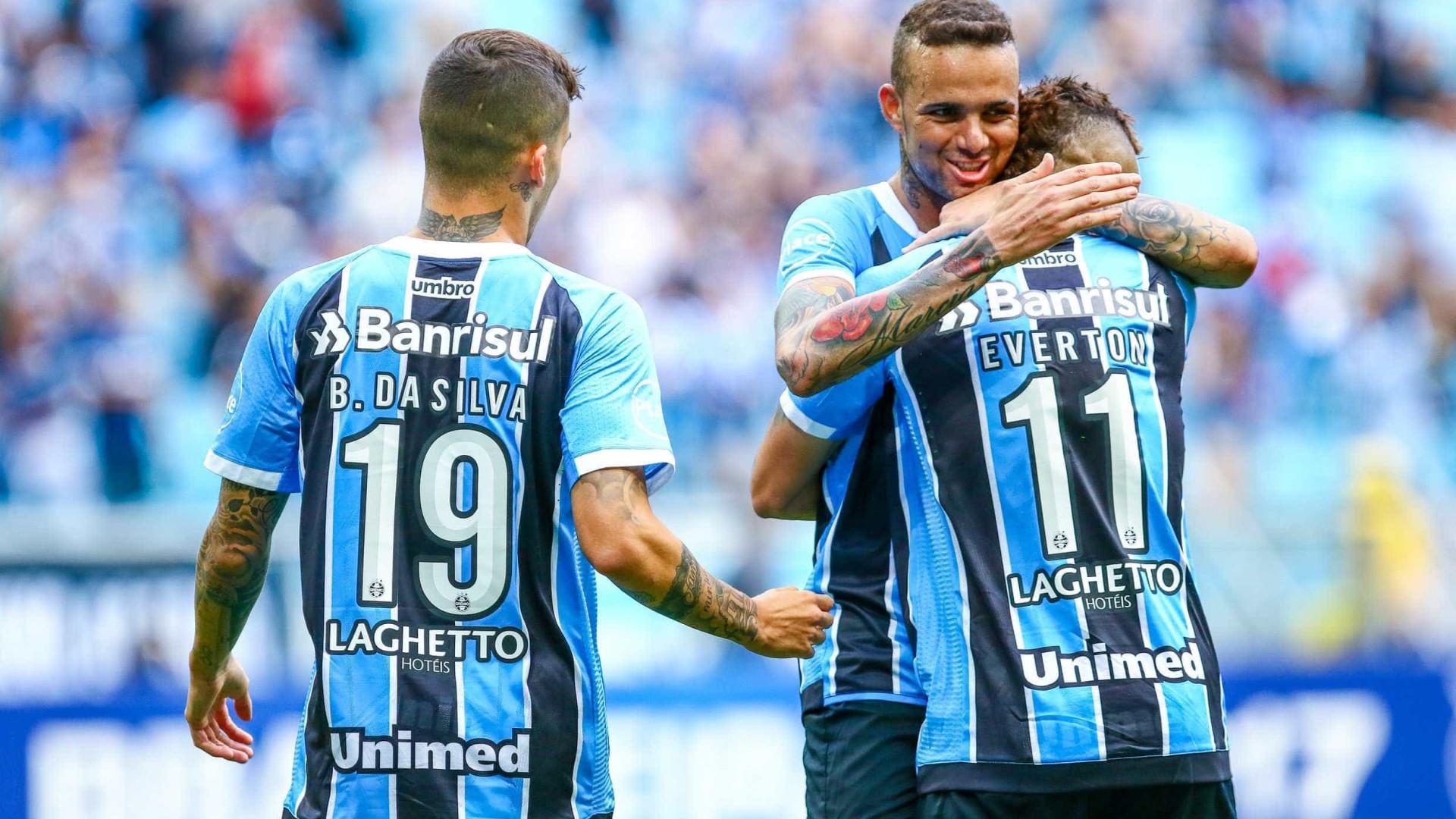 Grêmio derrota o Flamengo de virada em Porto Alegre