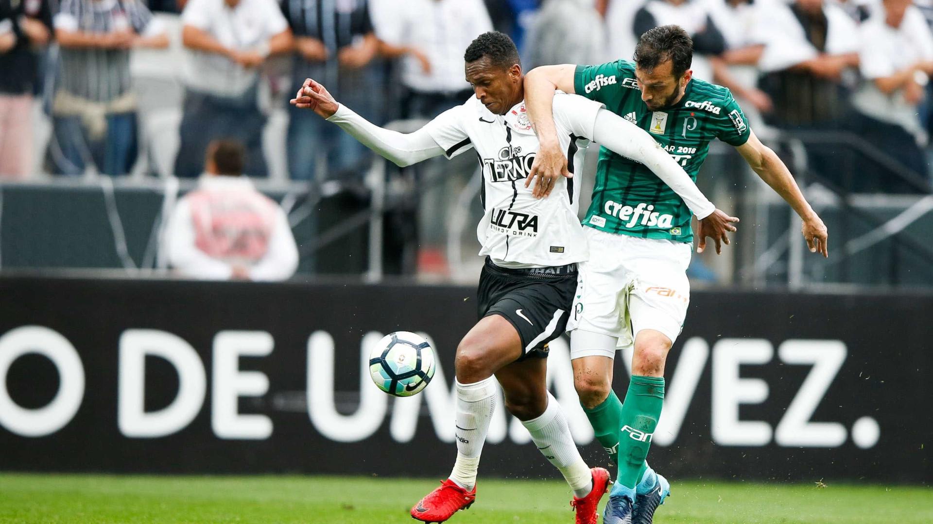 Corinthians vence Palmeiras e encaminha título do Brasileirão 2017