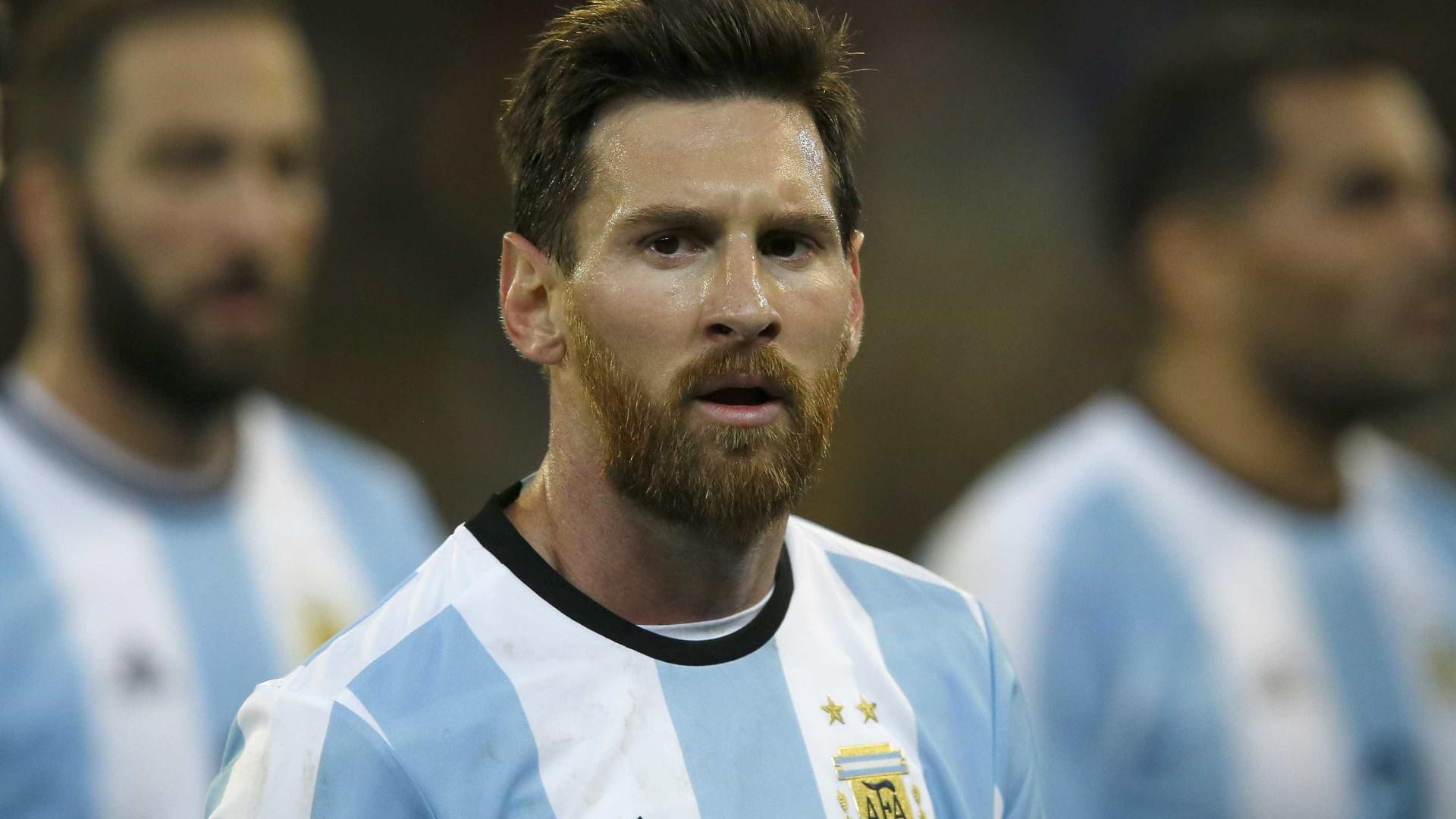Messi promete caminhar 50km se a Argentina ganhar a Copa da Rússia
