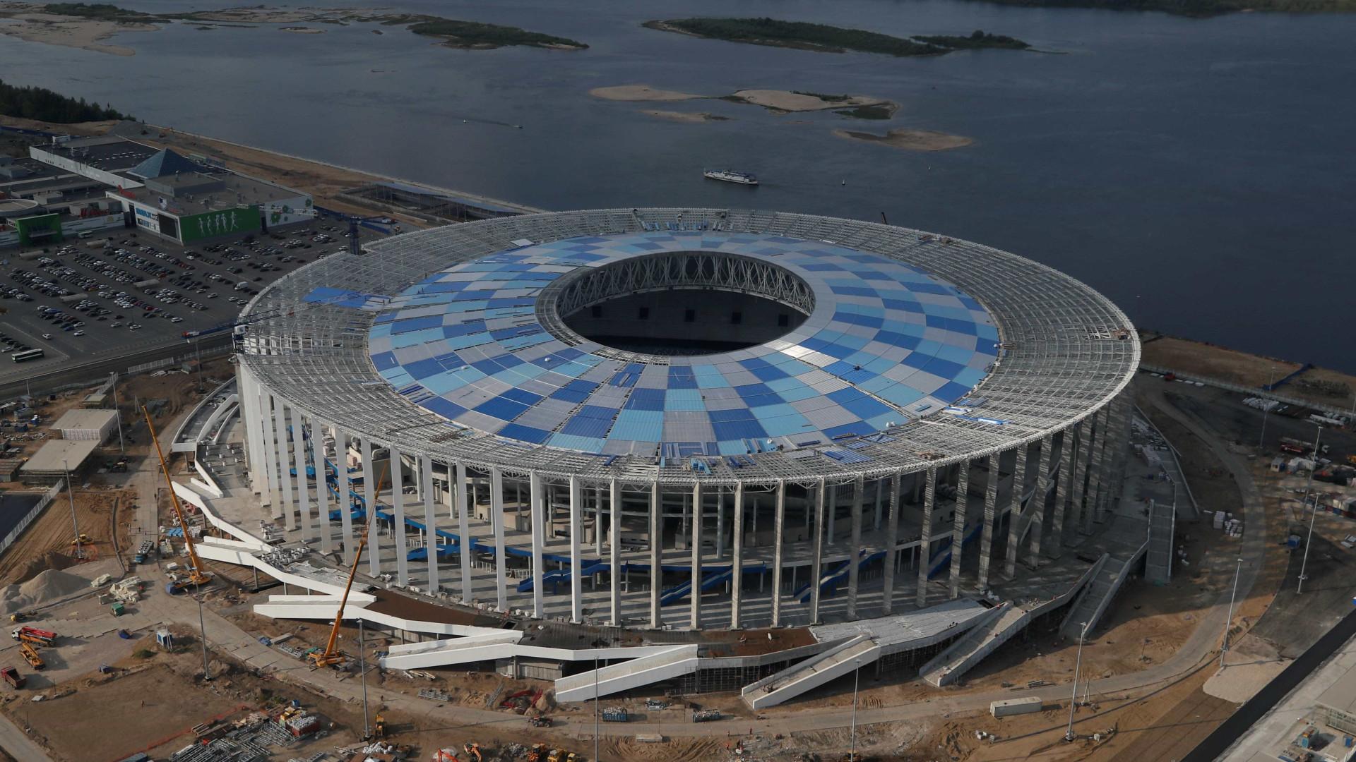 Copa: cidade russa se prepara para revelar segredos aos visitantes