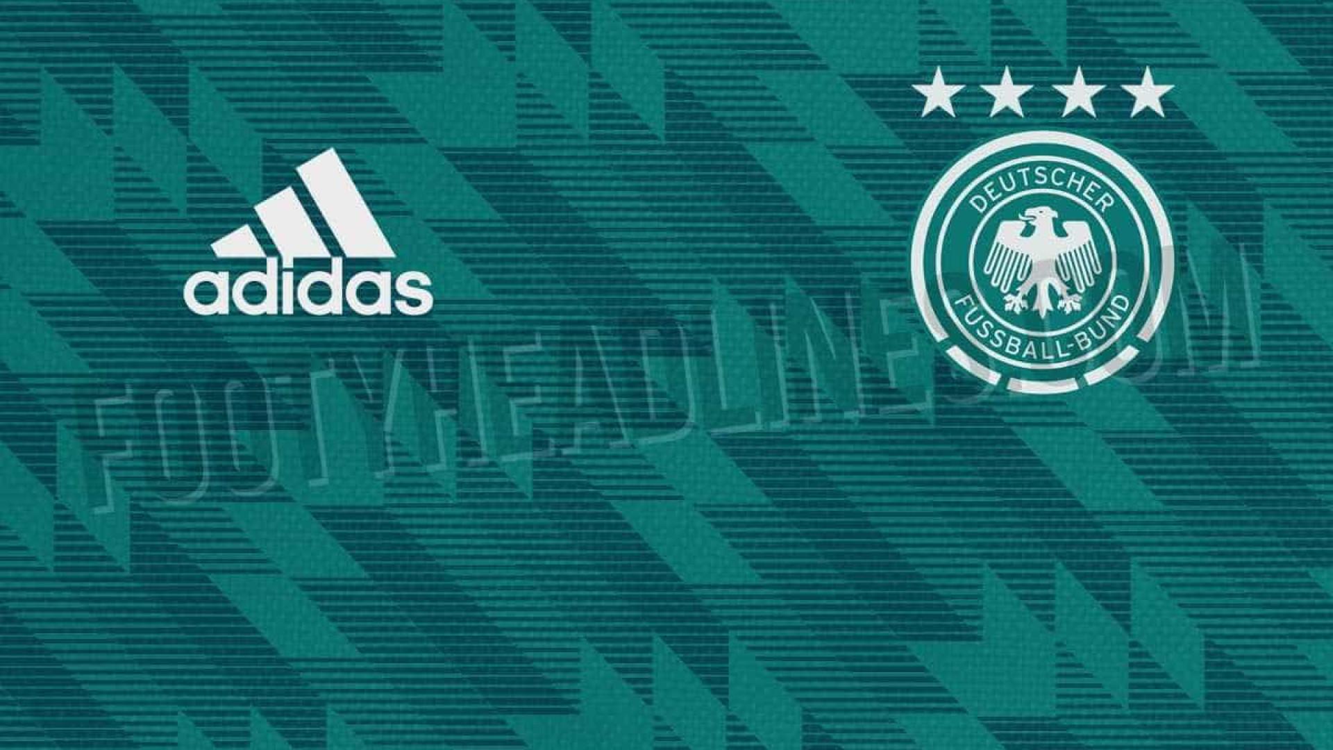 Site vaza o segundo uniforme da Alemanha para a Copa de 2018