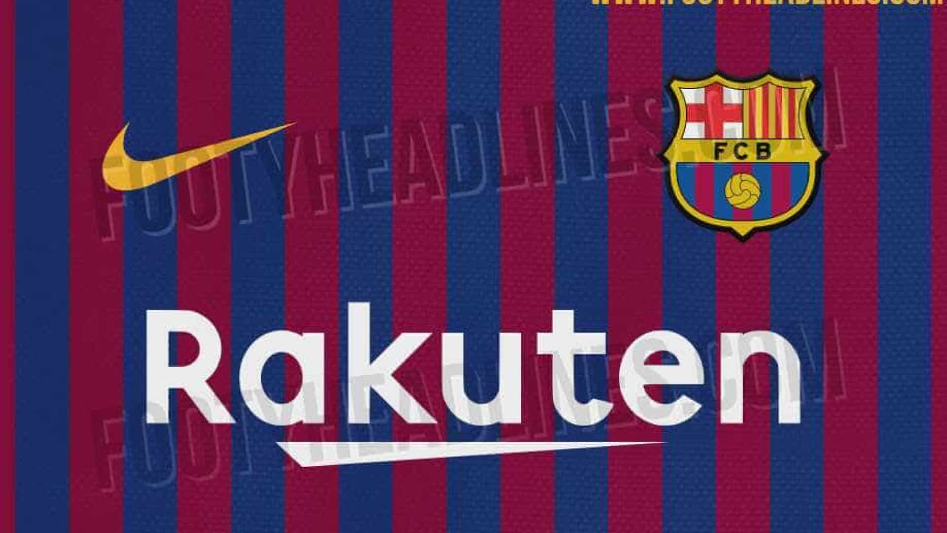 Site vaza suposta camisa do Barcelona para a próxima temporada; confira