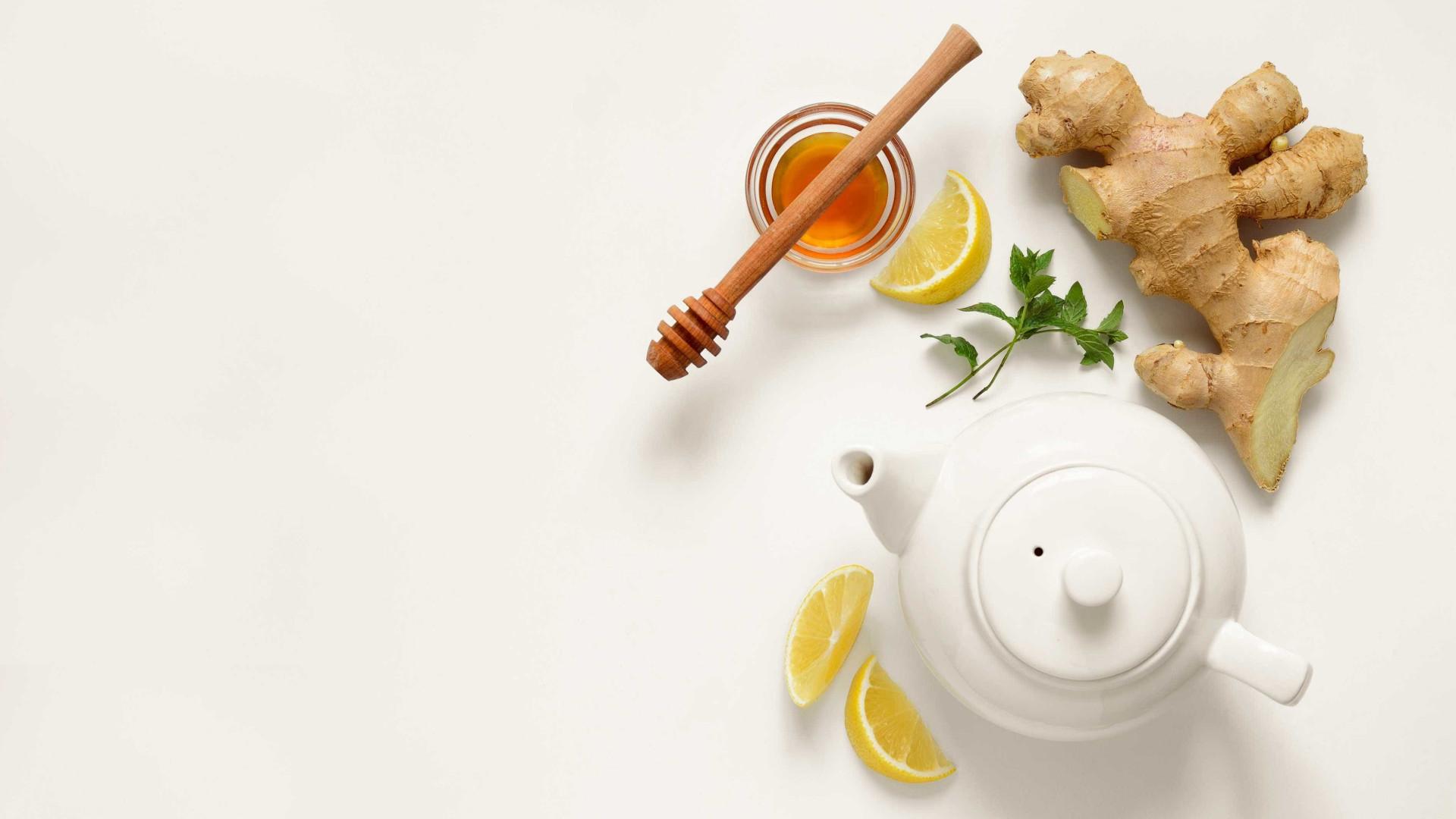 Chá de gengibre é aliado da saúde; veja como preparar corretamente