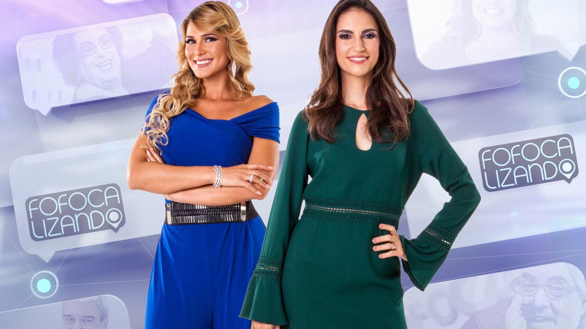 SBT confirma Chris Flores e Lívia Andrade à frente do Fofocalizando