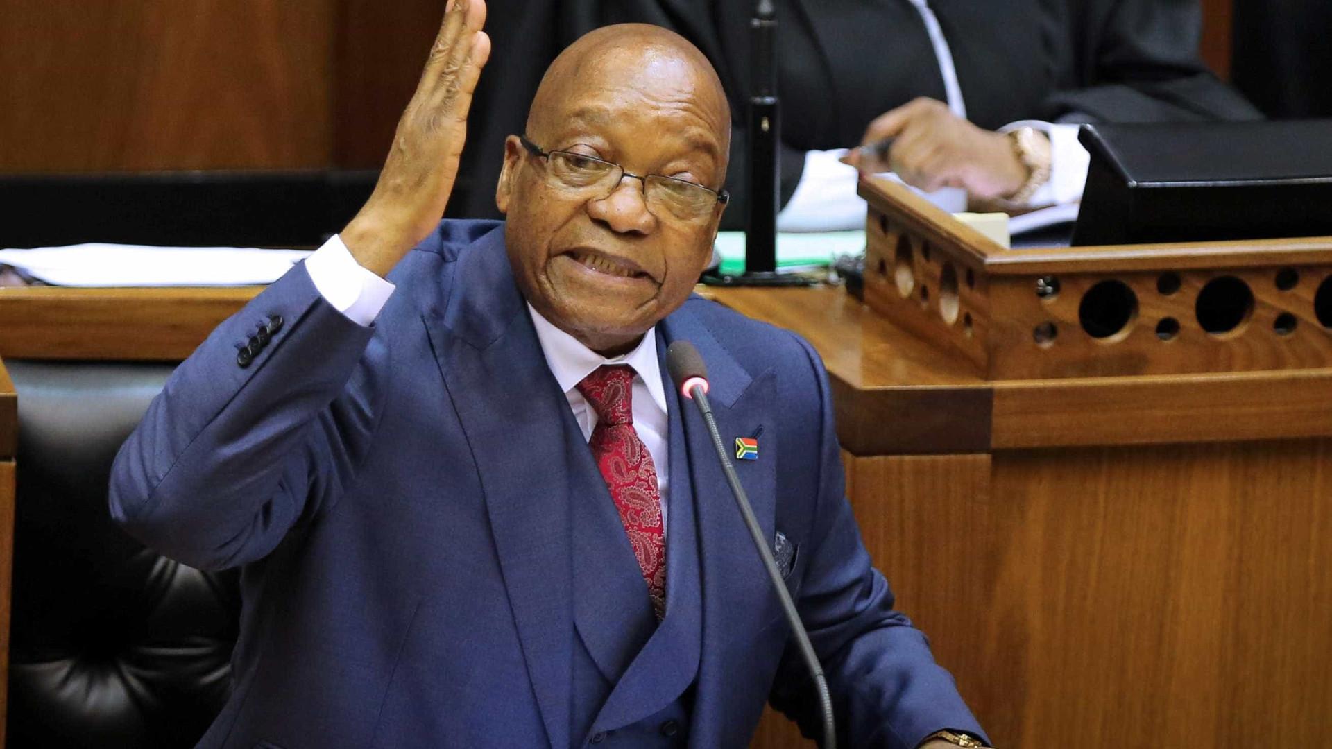 'Fui envenenado', garantiu presidente da África do Sul