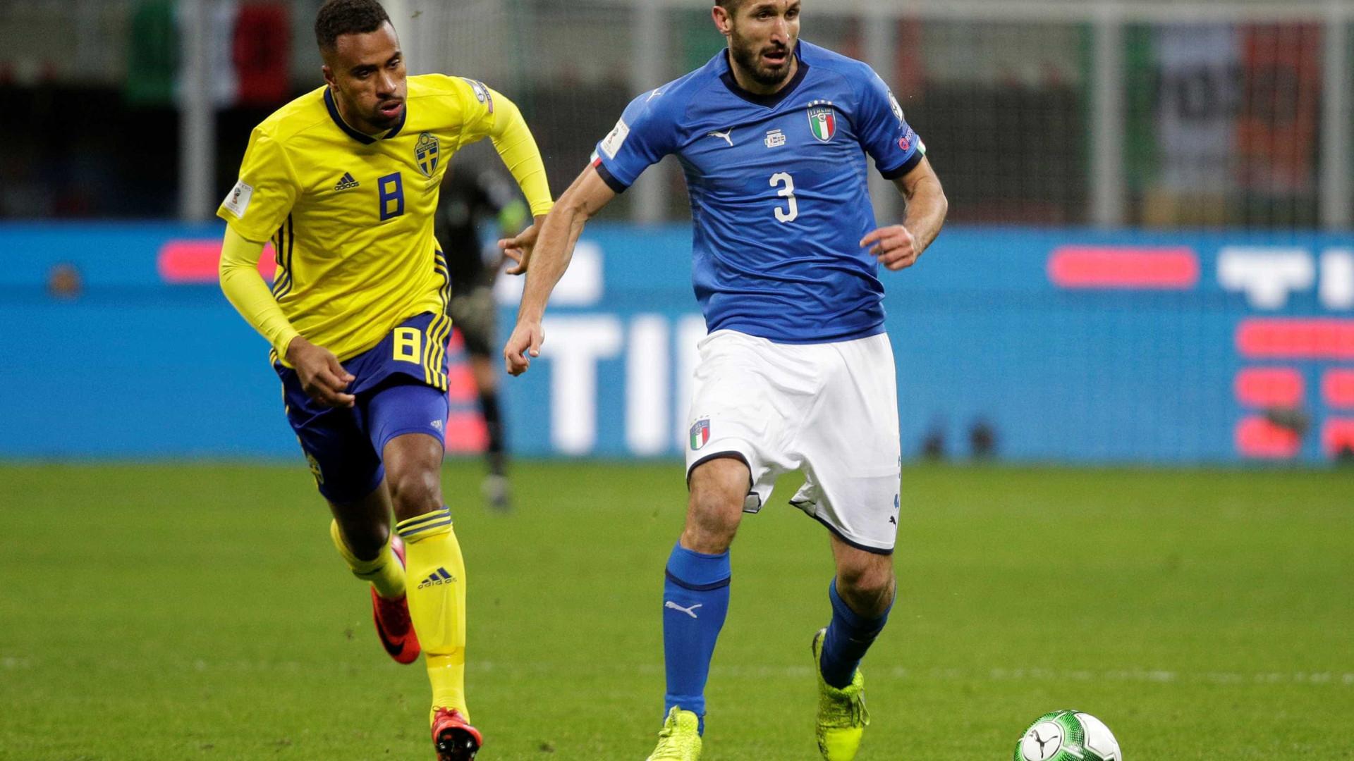 Itália está fora da Copa do Mundo de 2018