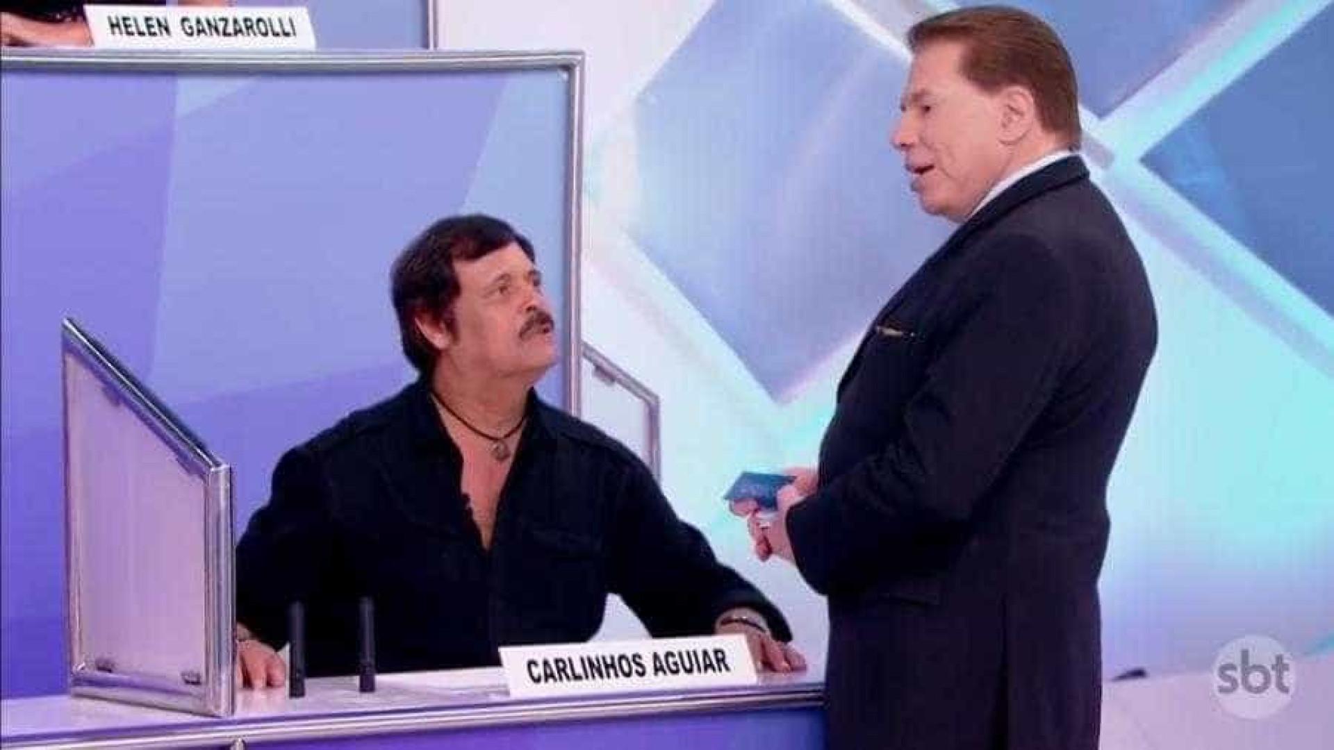 Após ser demitido do SBT, Carlinhos Aguiar é ignorado por Silvio Santos