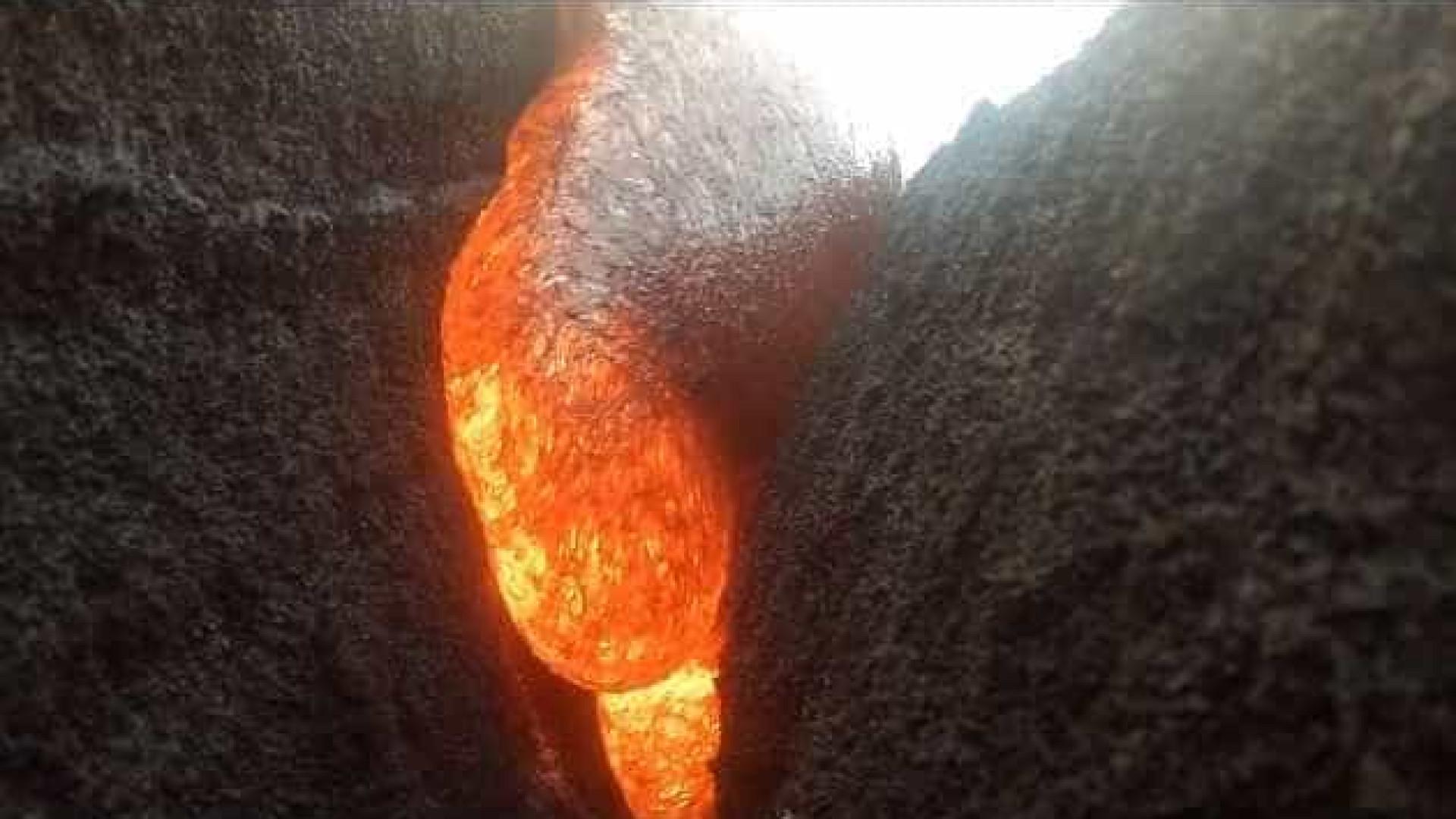 GoPro é engolida por lava, não quebra e ainda filma sequência