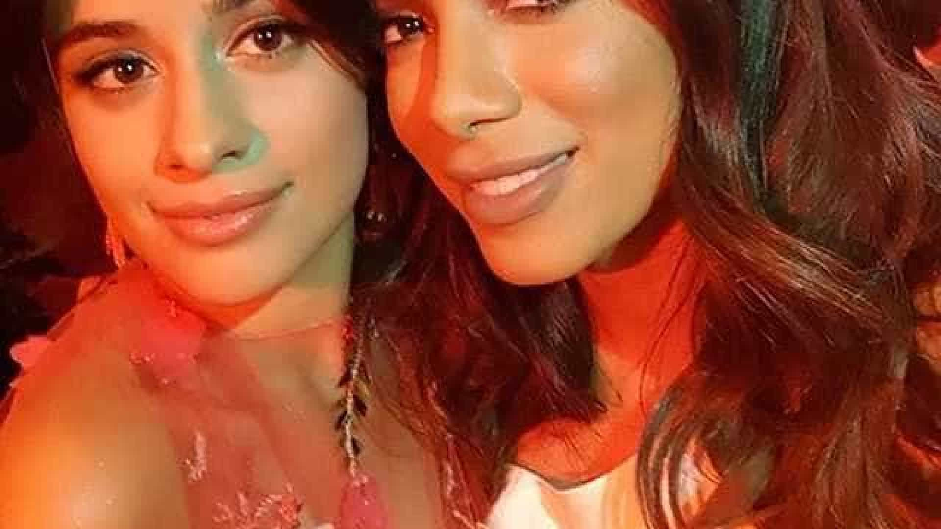 Fãs vão à loucura com encontro de Anitta e Camila Cabello