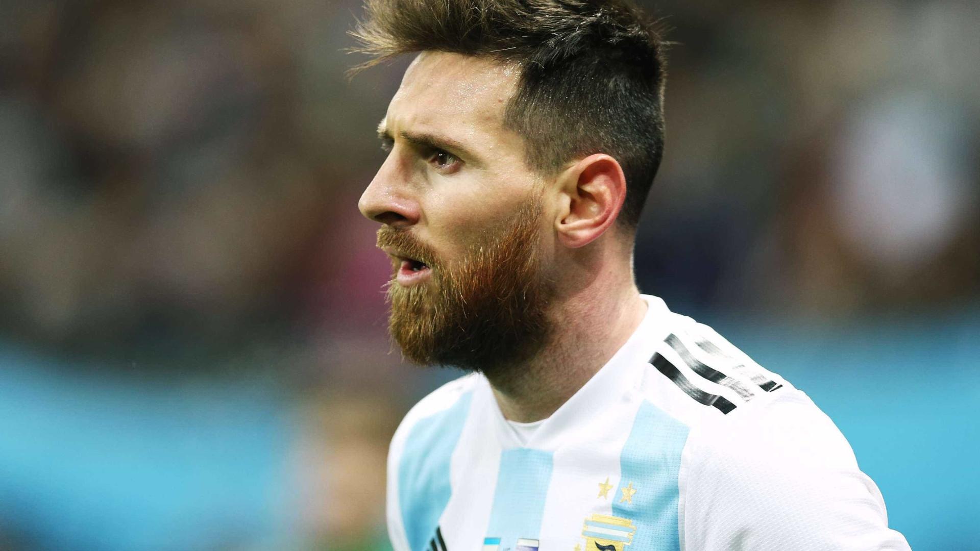 Messi recebeu dinheiro para jogar amistoso pela Argentina, diz delator