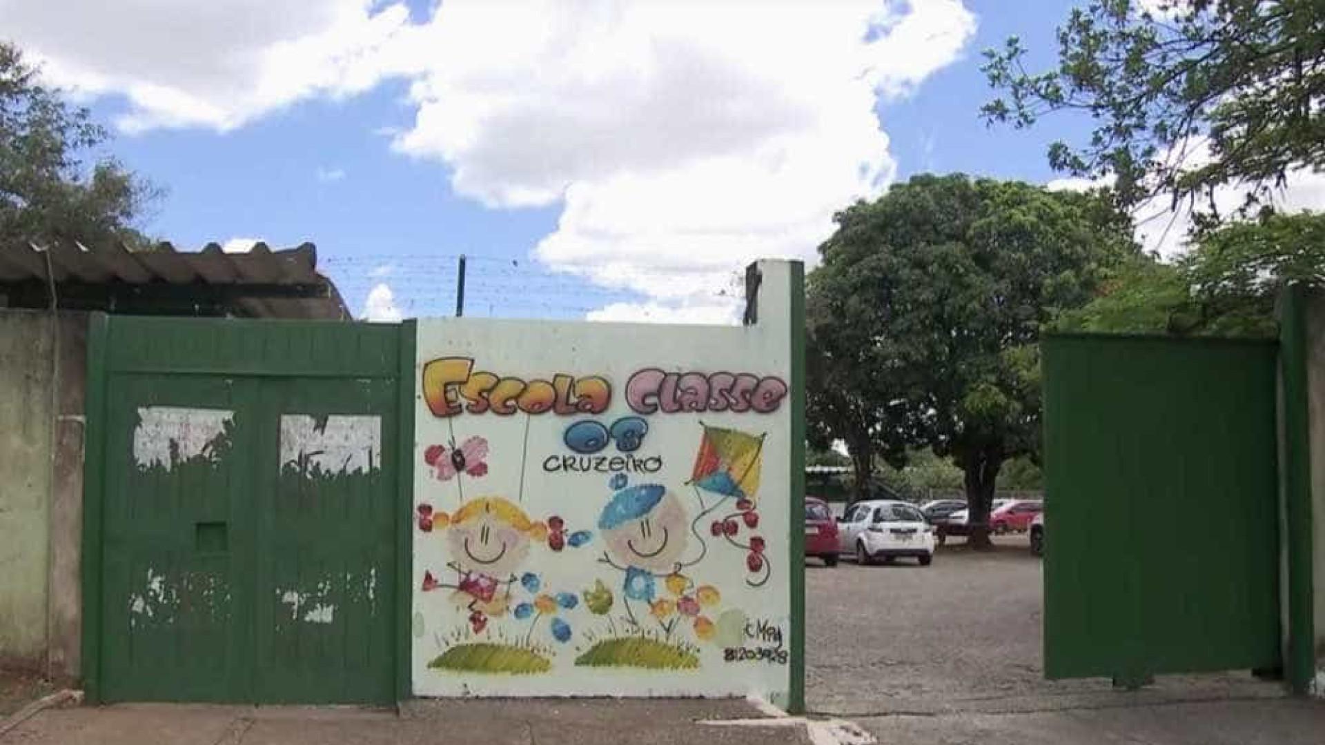 Menino de 8 anos desmaia de fome em escola pública do DF