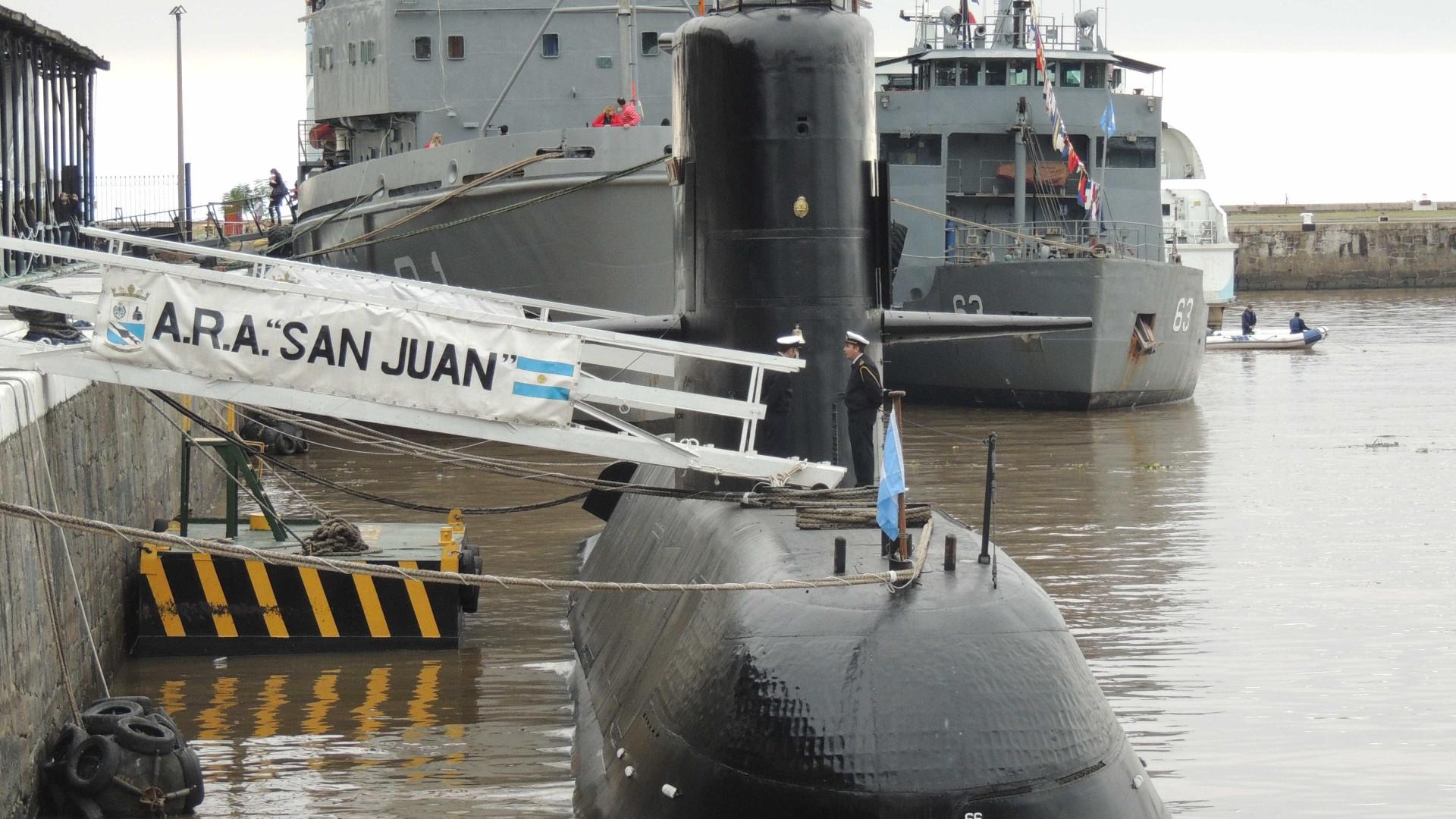 Ministério da Defesa recebe supostos sinais de submarino desaparecido