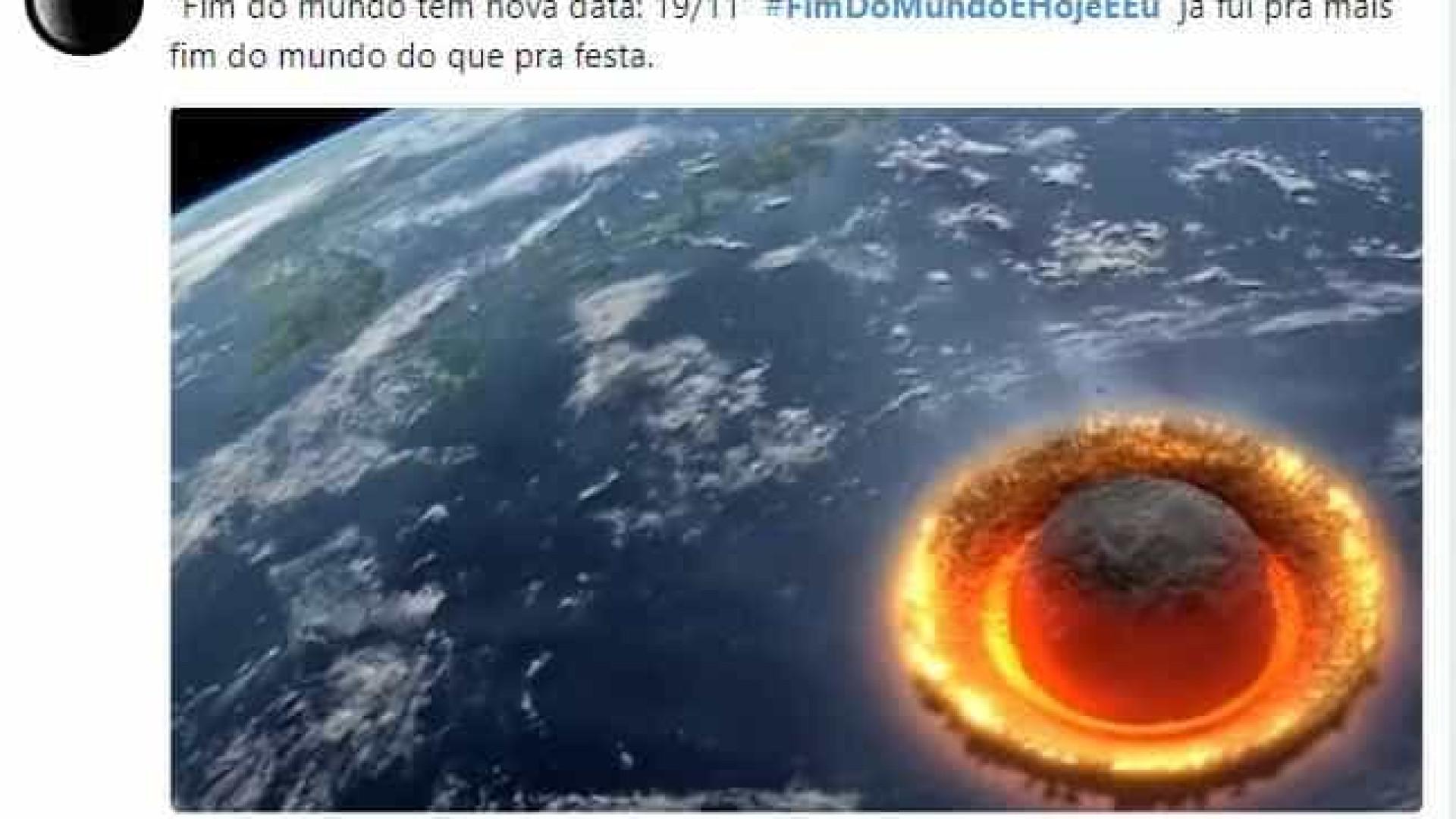 'Fim do mundo' marcado para este domingo gera memes na web; confira
