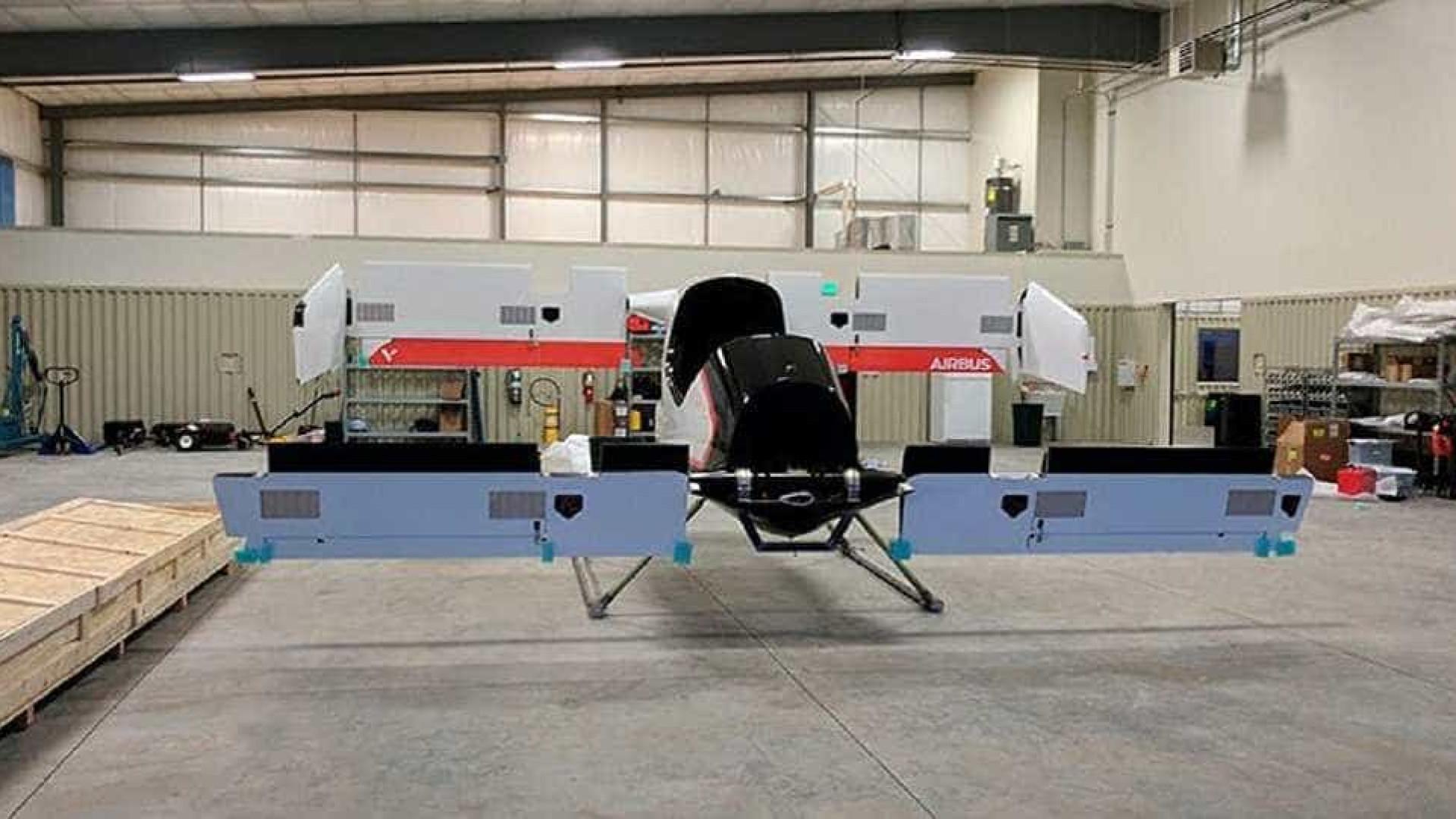 Confira as primeiras imagens do protótipo de táxi voador