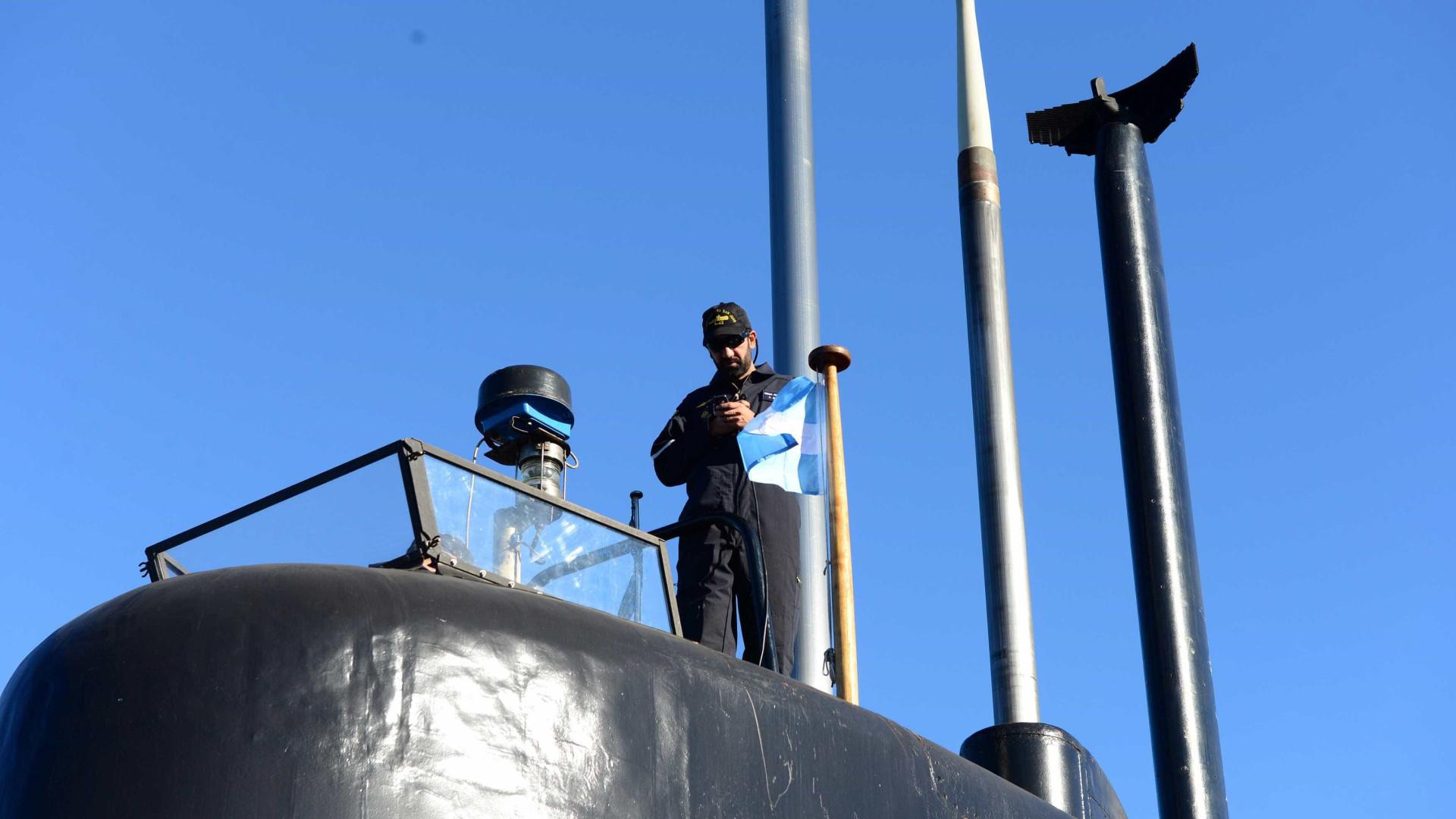 Submarino desaparecido não sofreu ataque externo, diz Marinha argentina