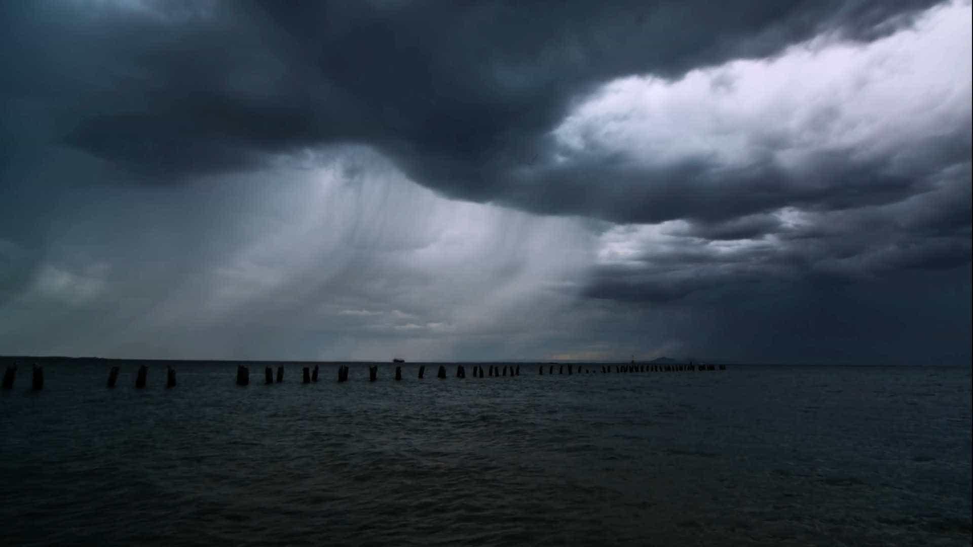 Time-lapse grava a beleza de uma tempestade na Austrália