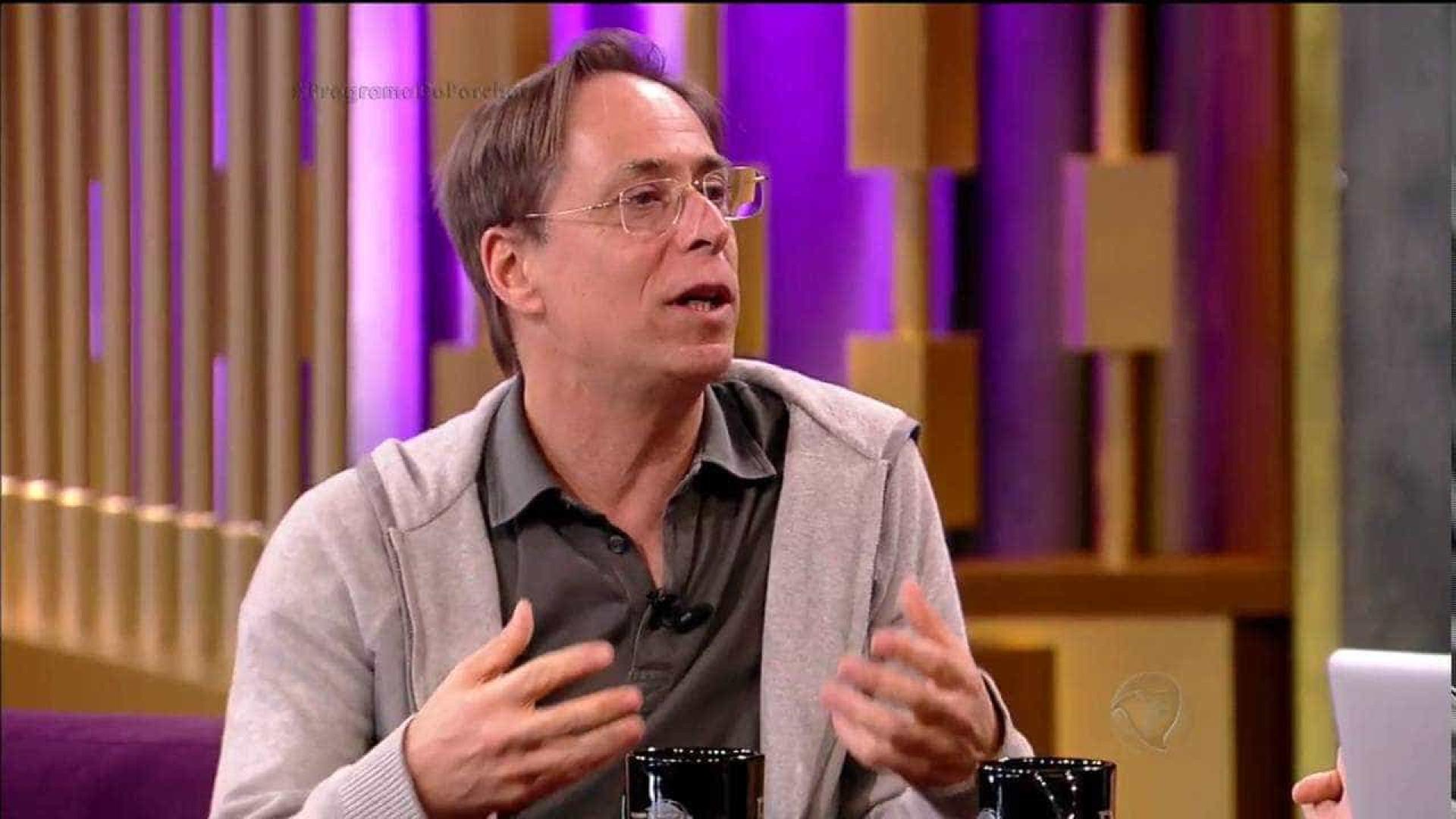 'Muita celebridade querendo ser presidente', diz Pedro Cardoso