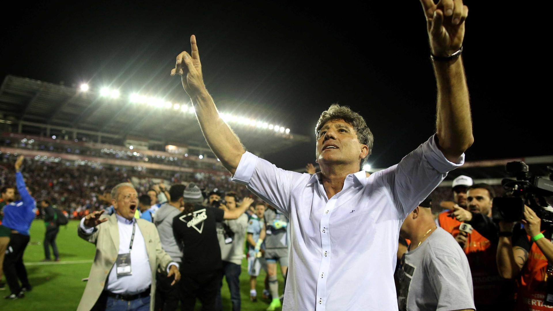 Renato é o 1º brasileiro a ganhar Libertadores como jogador e técnico