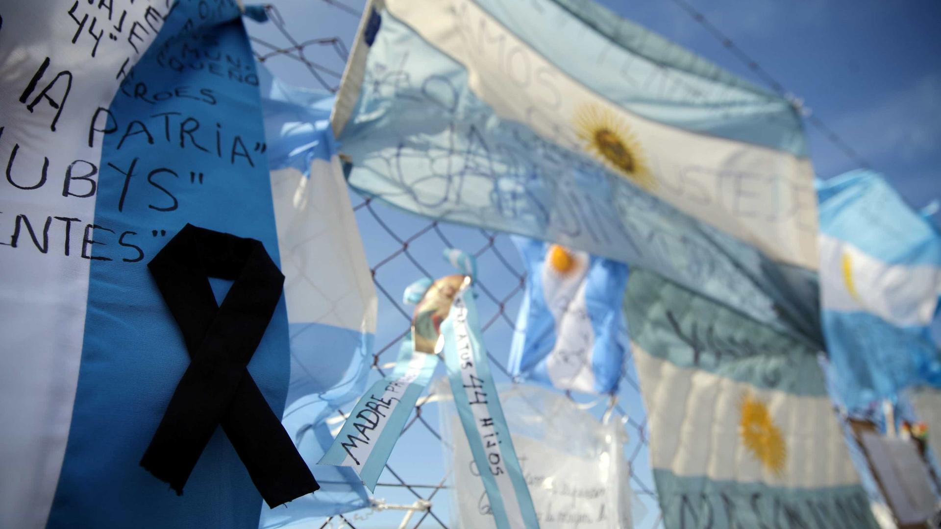 Argentina abandona busca por sobreviventes de submarino desaparecido