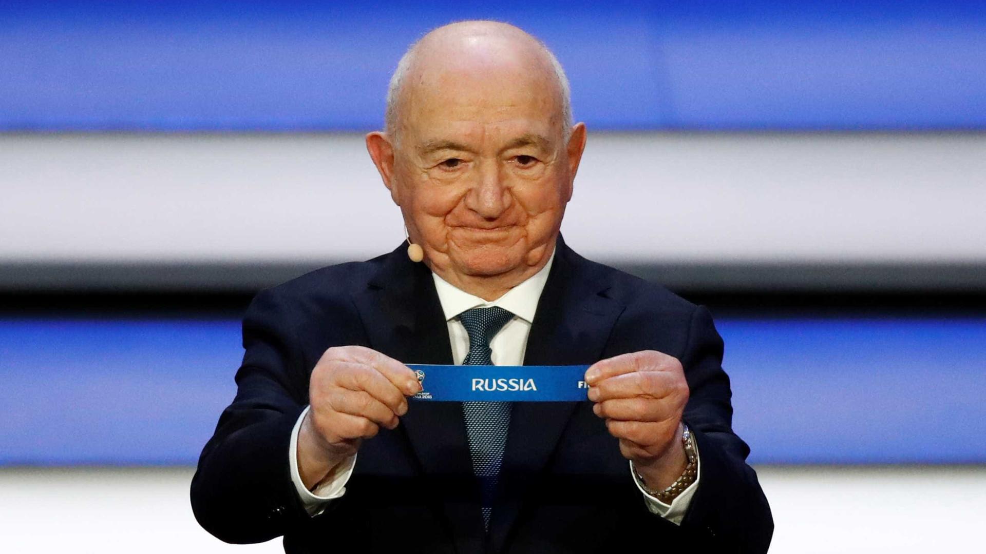 Sorteio define grupos da Copa da Rússia; confira