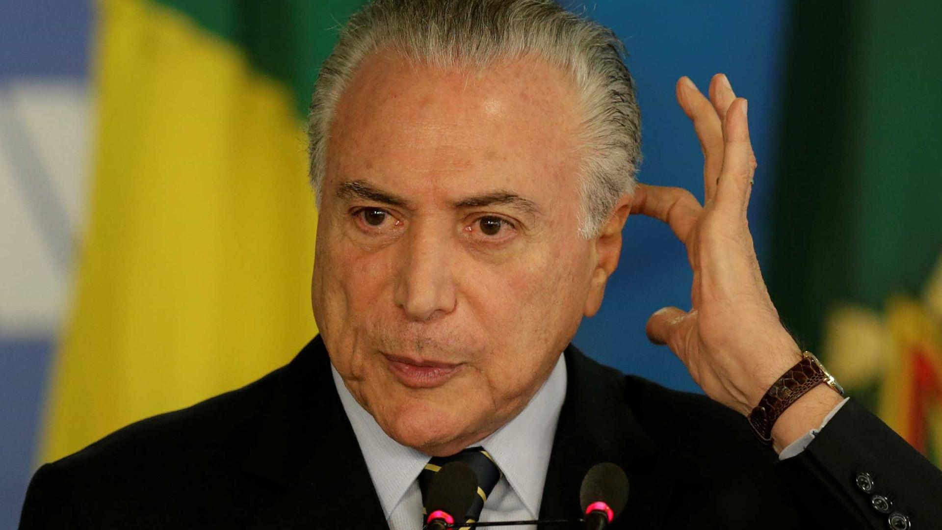 Ibope aponta que 86% dos brasileiros consideram governo Temer corrupto