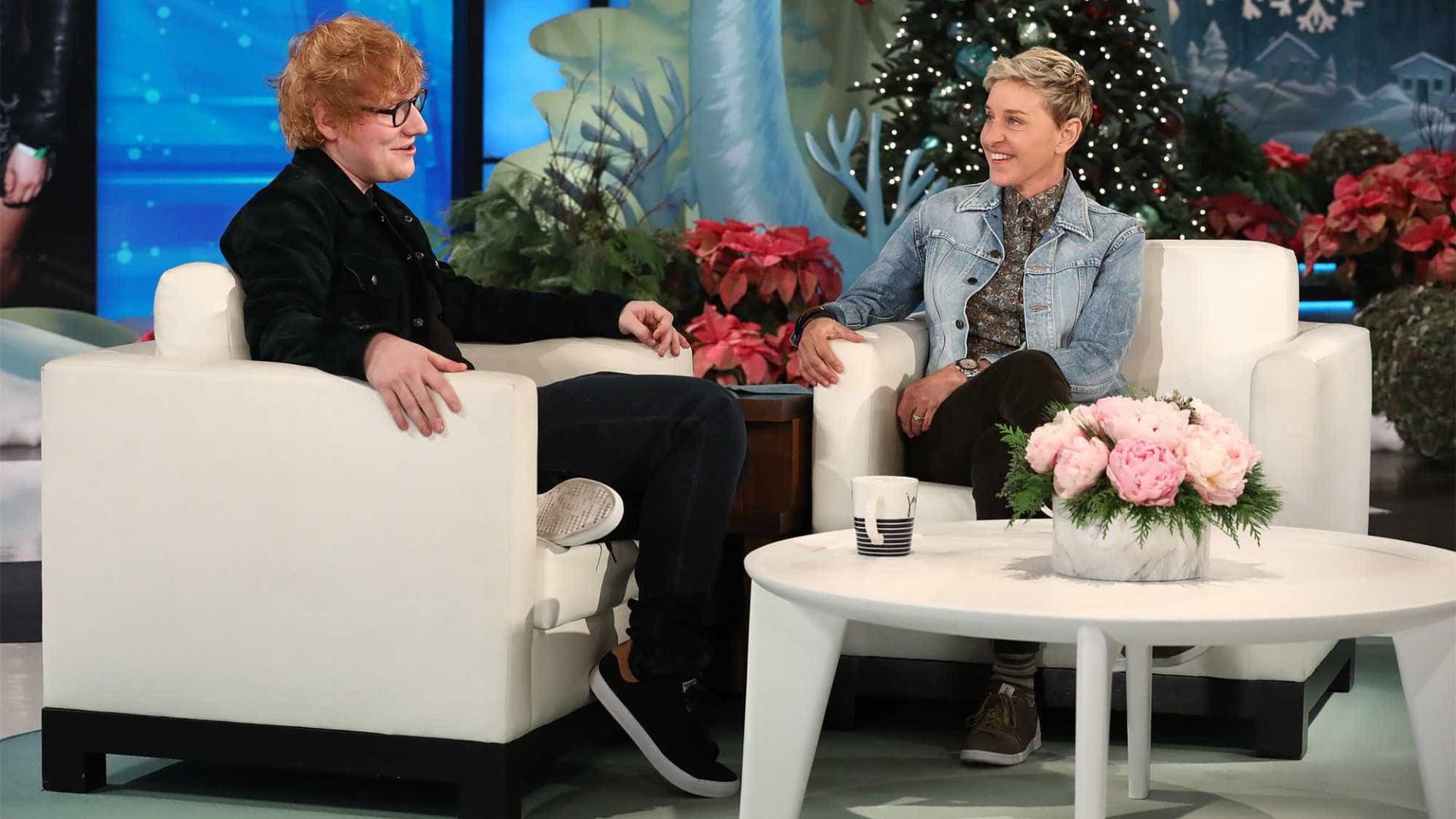 Ed Sheeran fala sobre dueto com Beyoncé e esnobada do Grammy