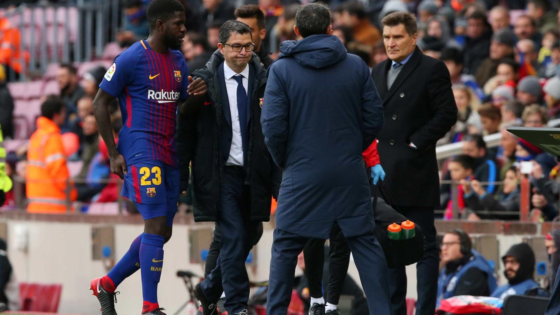 Iniesta falha receção ao Sporting — Barcelona