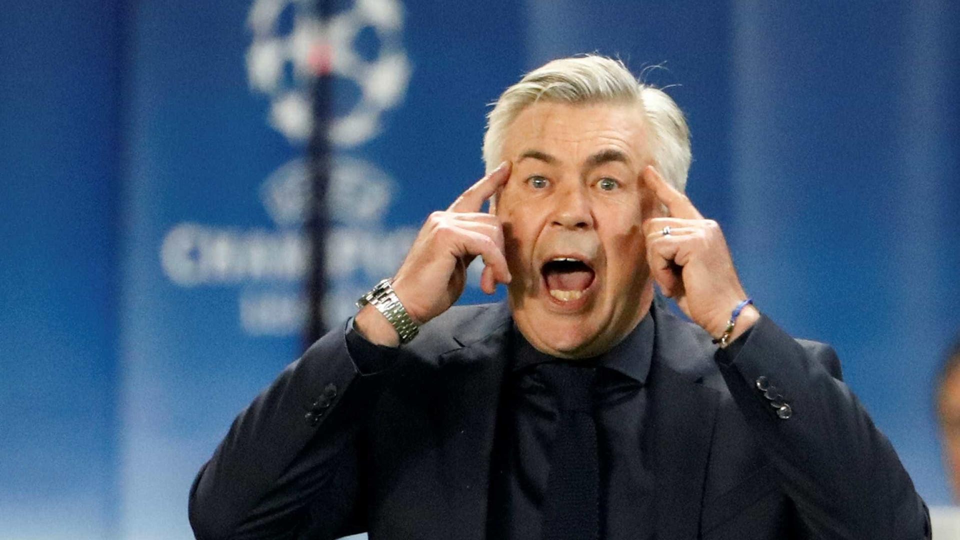 Ancelotti descarta seleção Italiana: 'Prefiro seguir treinando clubes'