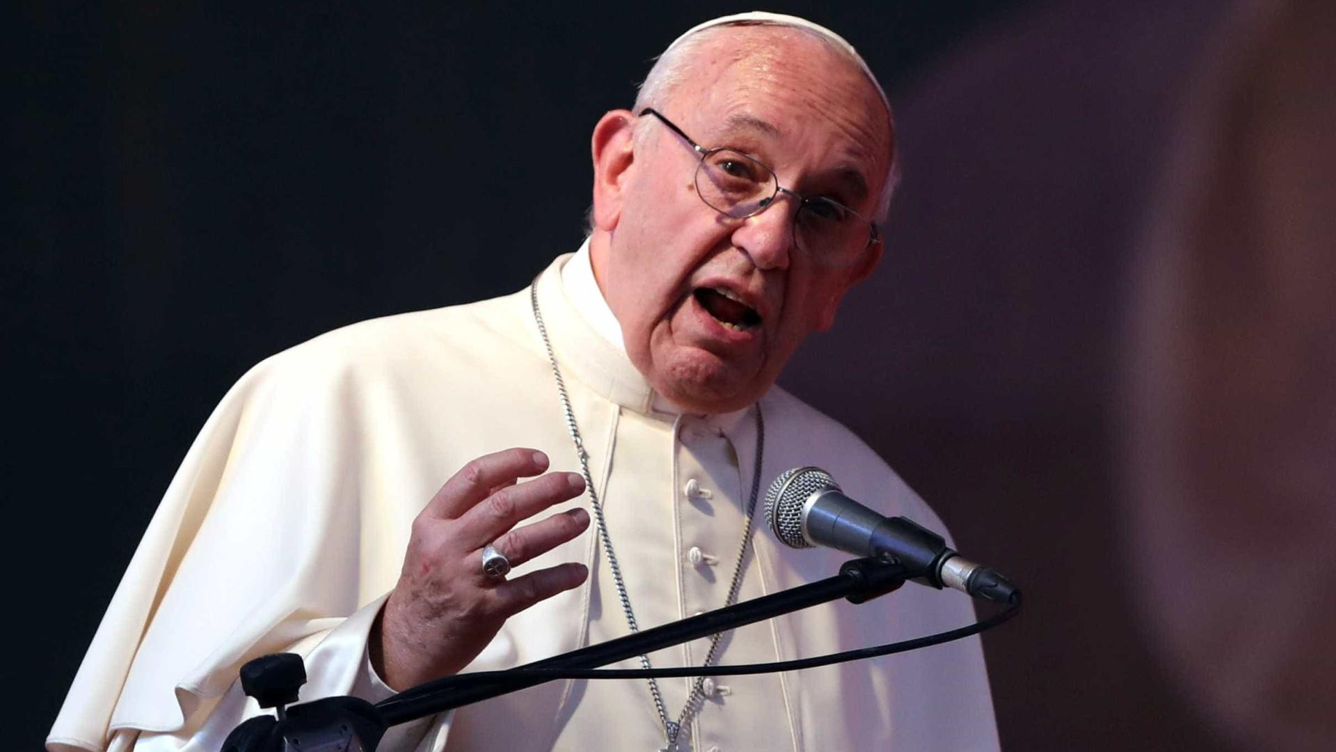 Papa faz apelo por respeito a Jerusalém